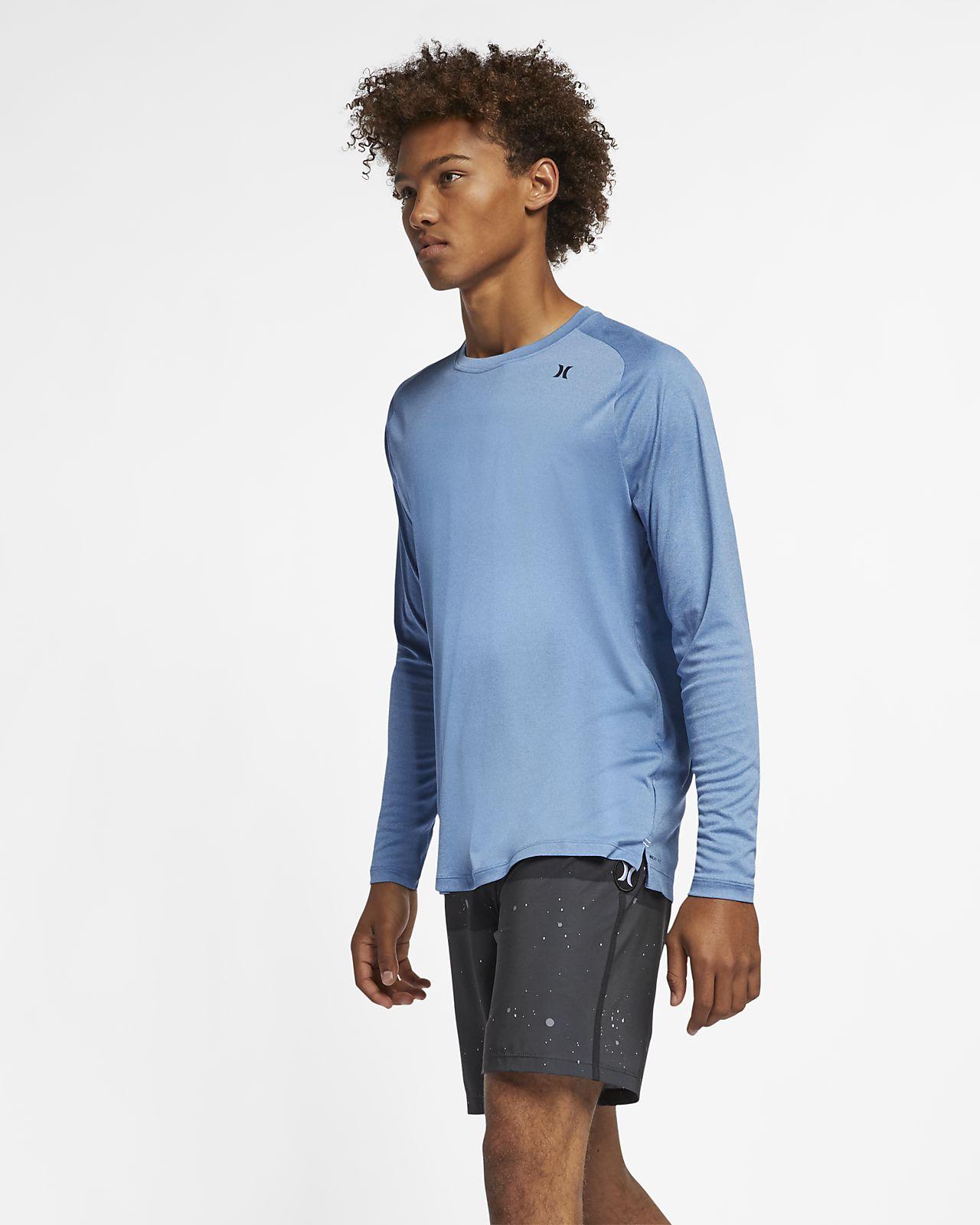 Tee-shirt à manches longues Hurley Quick Dry pour Homme