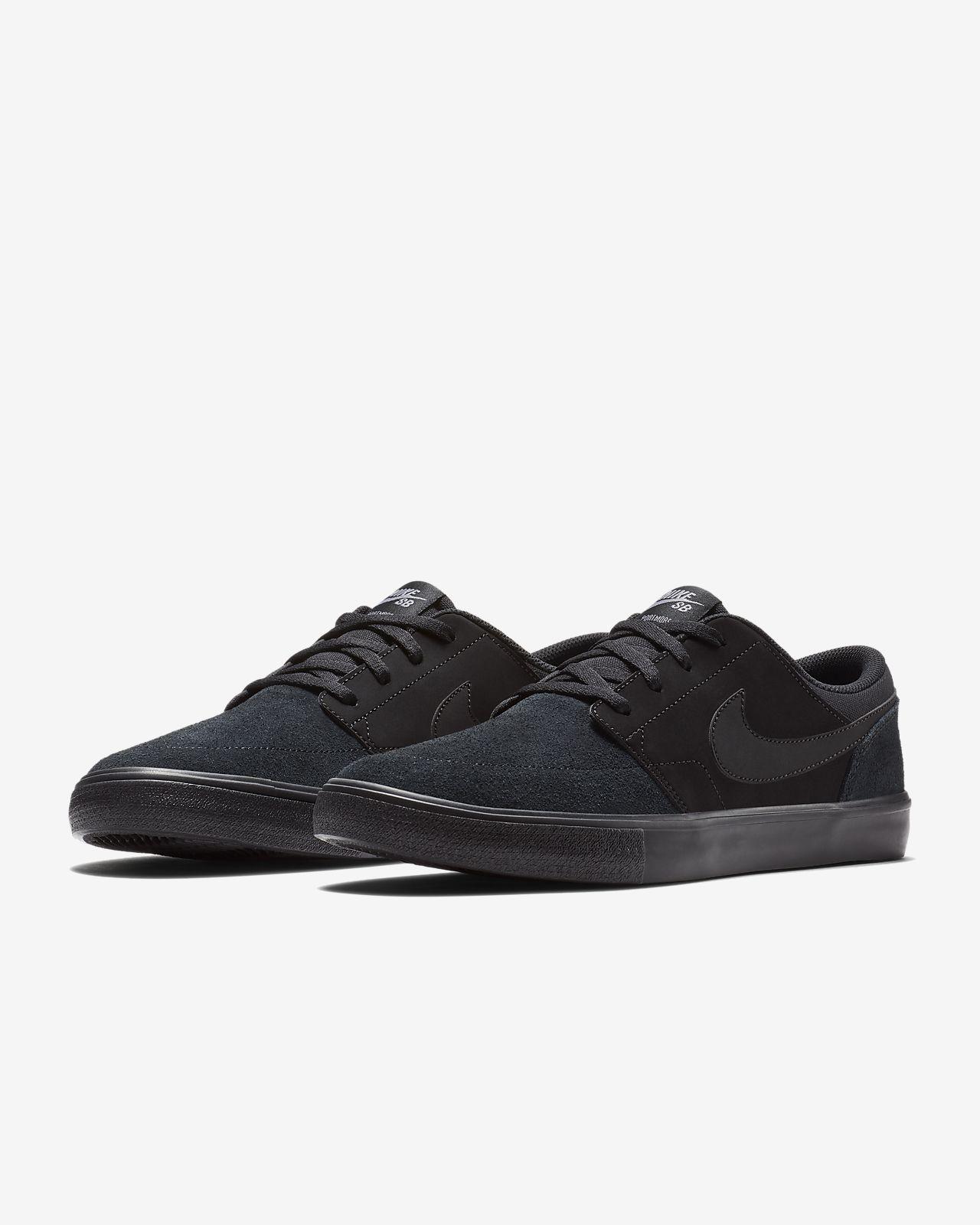Nike sb portmore ii solar uomo 880266 005 nero