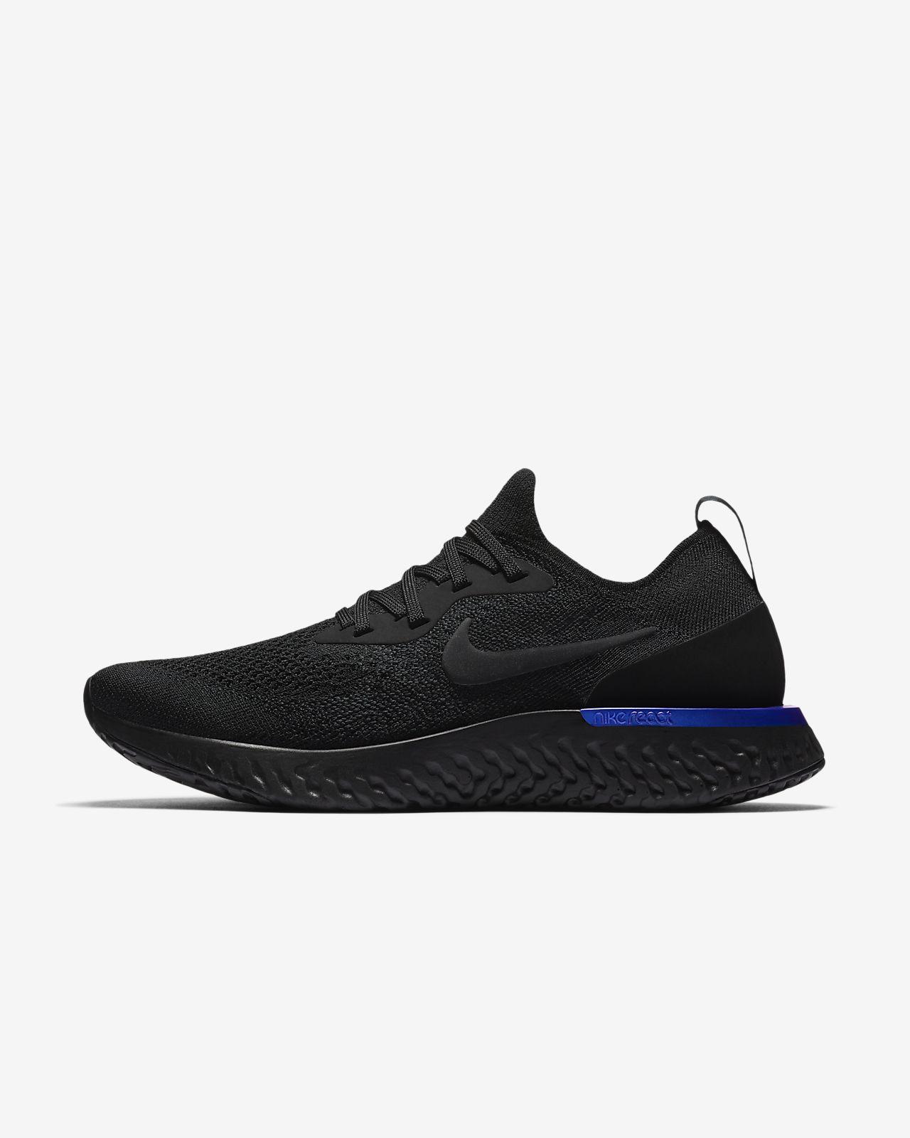 Zoom De L'air Neuf Élite Chaussures De Course De Maille - Noir Nike V0PGrugo