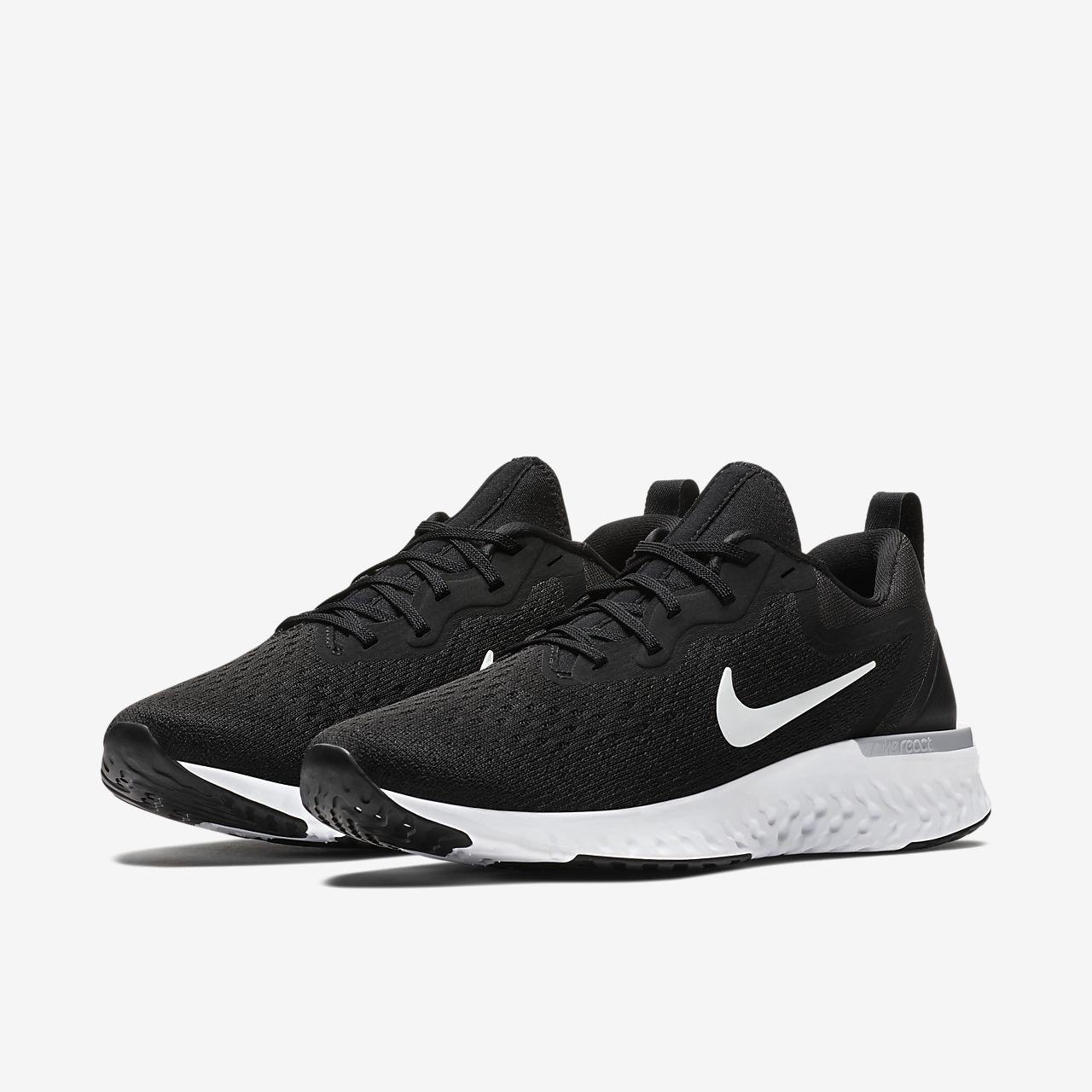 Nike Chaussures Odyssey Course Réagissent - Noir / Blanc 6wPuhq