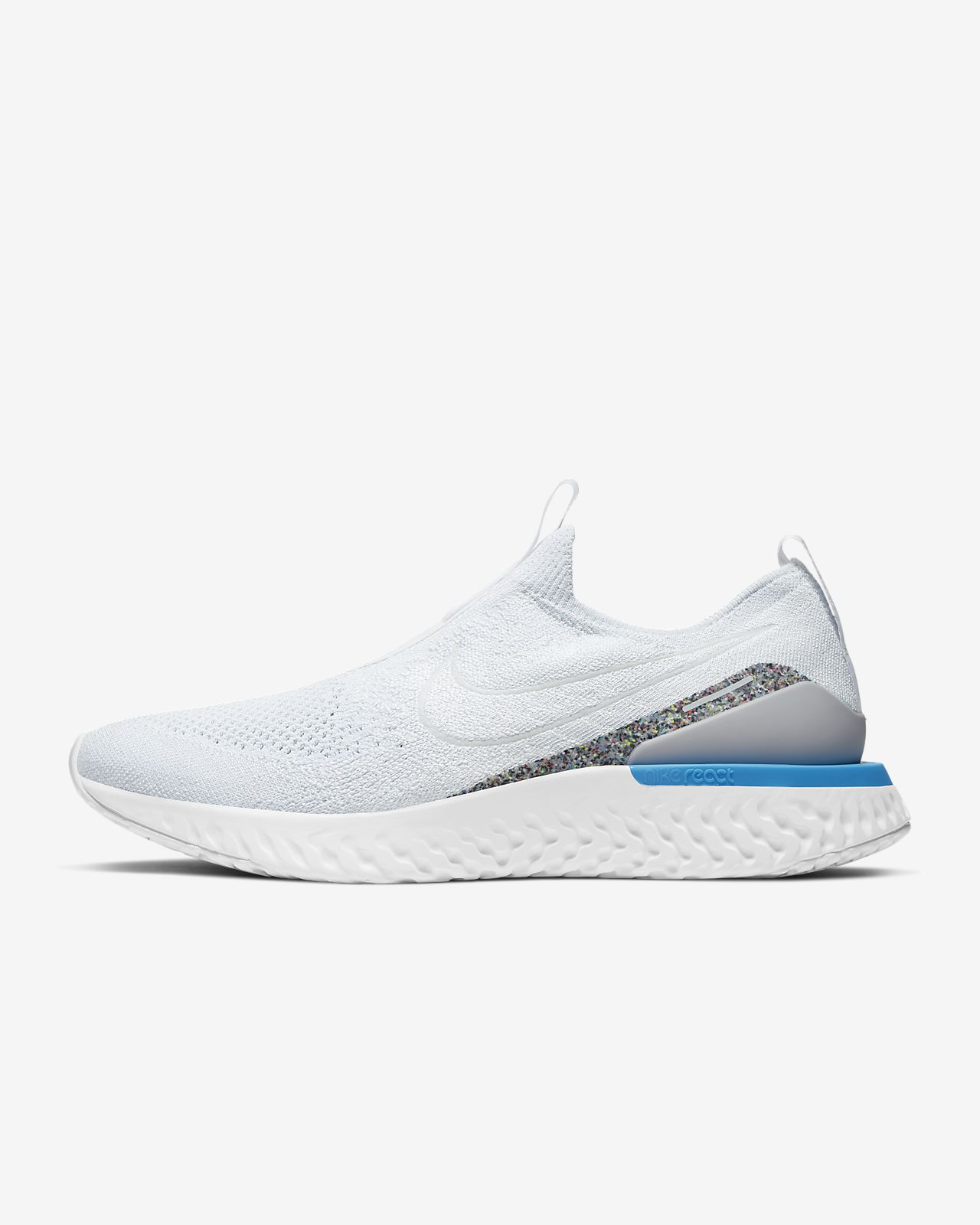 Nike Epic Phantom React Flyknit Men's Running Shoe. Nike ID