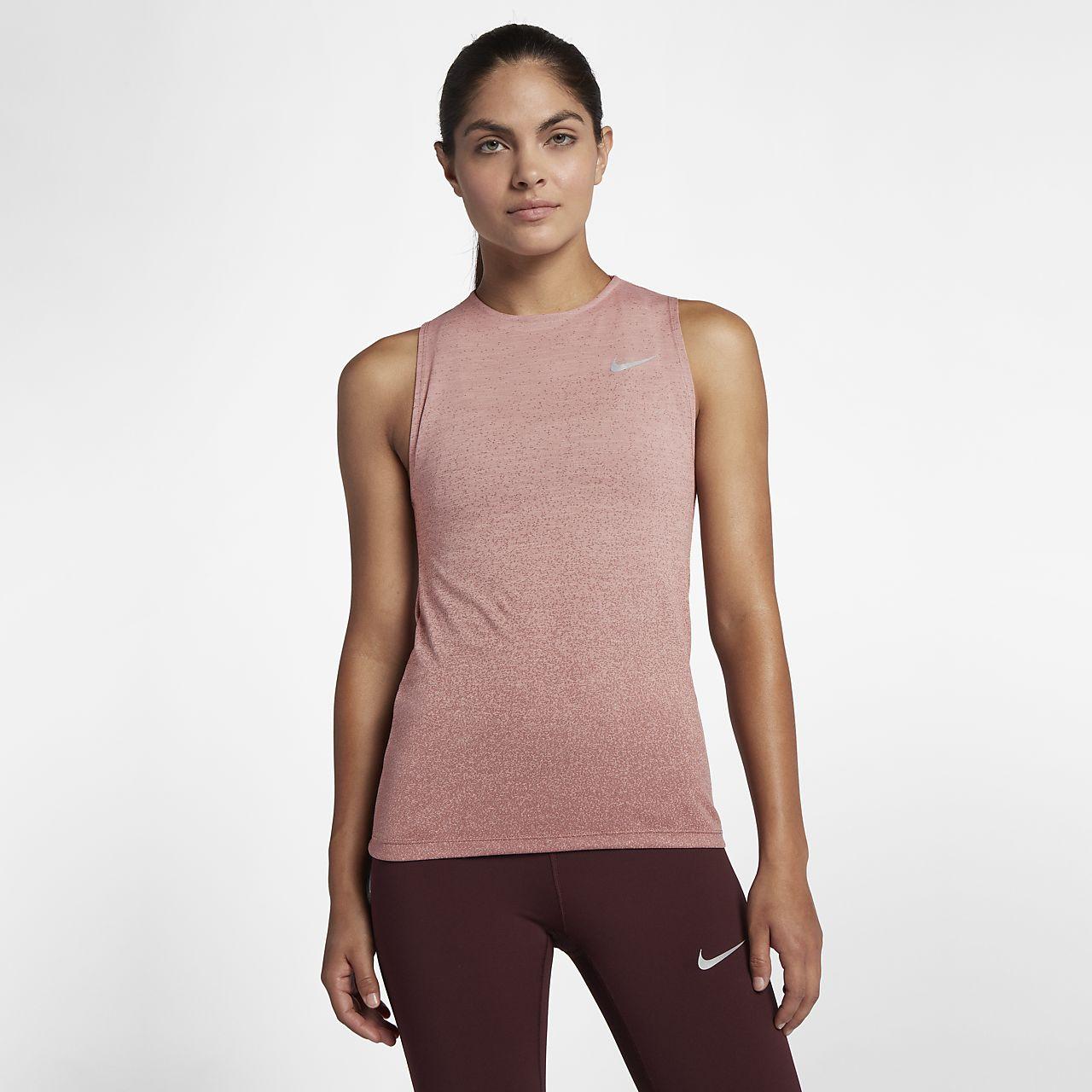 Nike Medalist Lauf-Tanktop für Damen