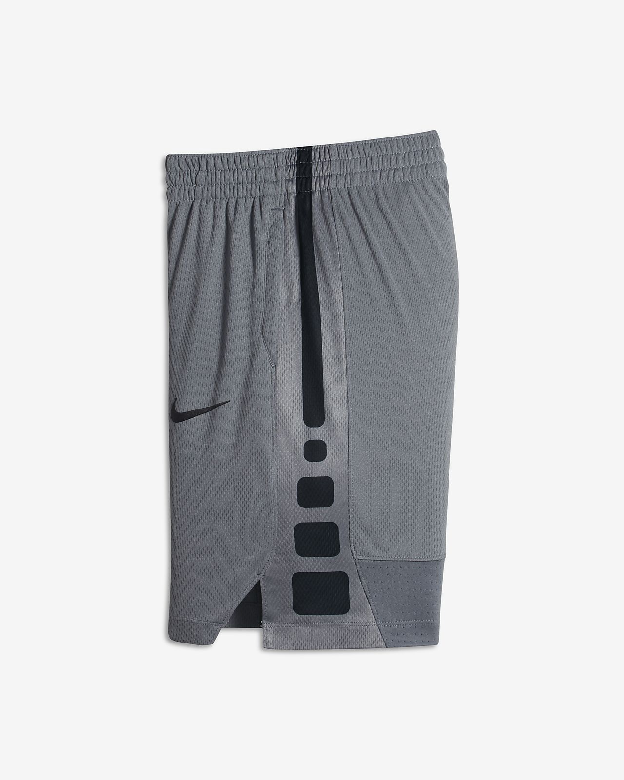 Nike Dry Elite Big Kids' Basketball Shorts Cool Grey/Black