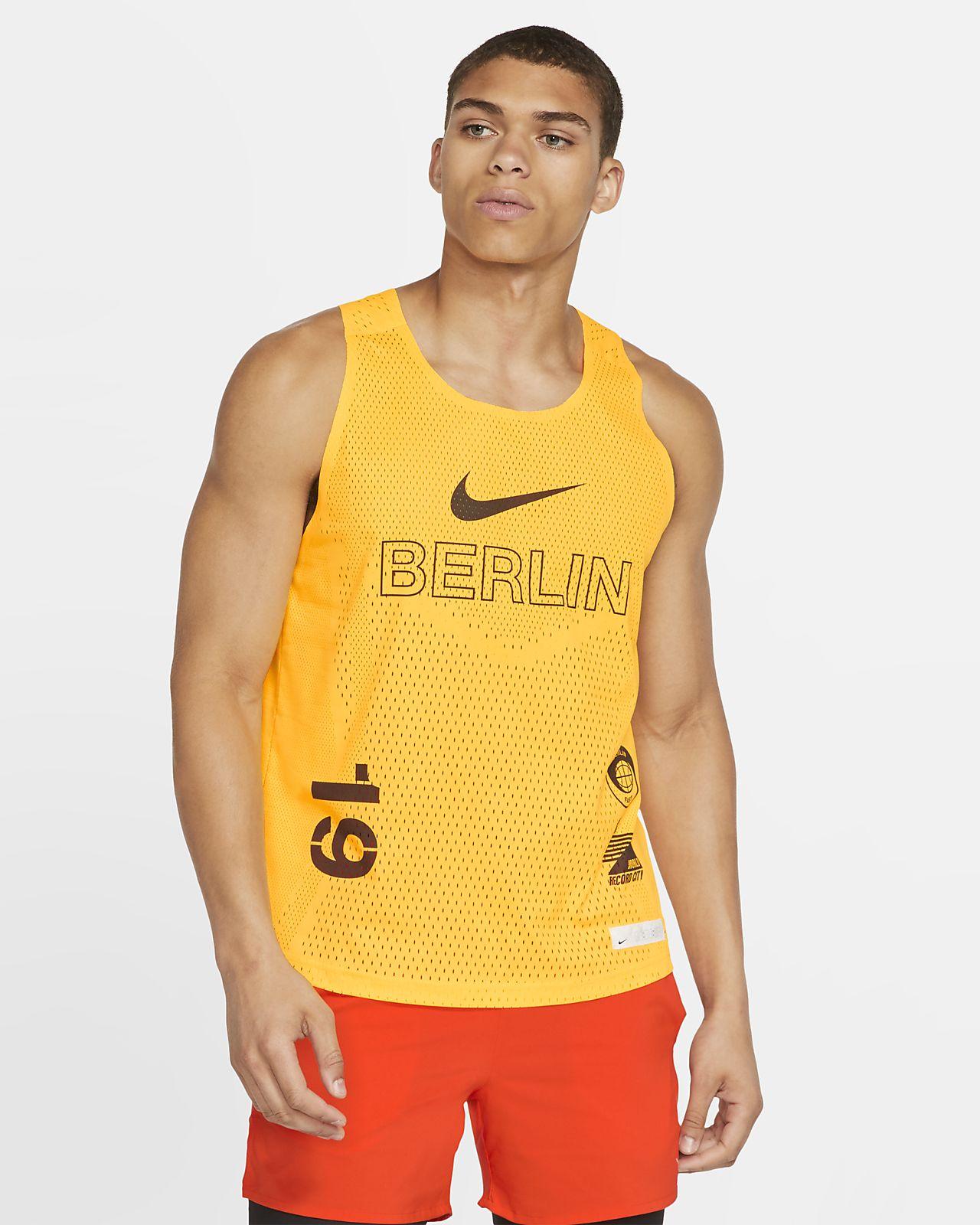 Nike AeroSwift Berlin Lauf-Tanktop