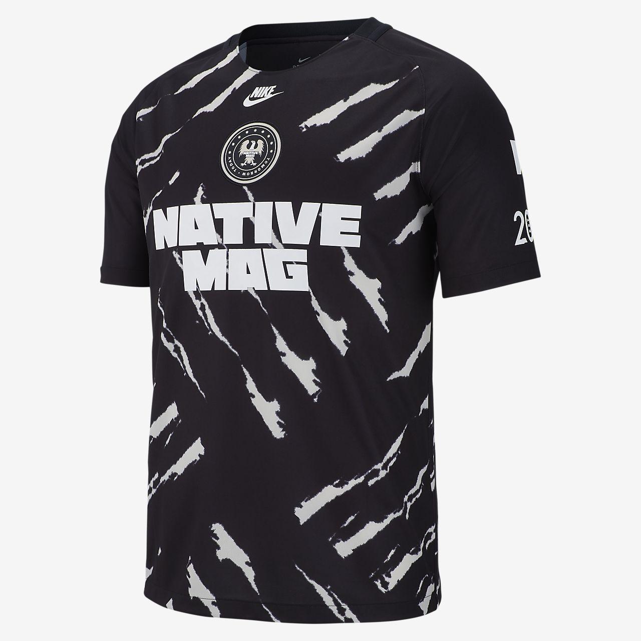 25c55356cfaf Nike Football x THE NATIVE Men s Football Shirt. Nike.com GB