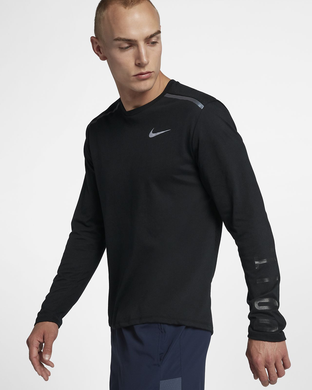 c1e5a11b45 Nike Tailwind Men's Long-Sleeve Running Top. Nike.com CA