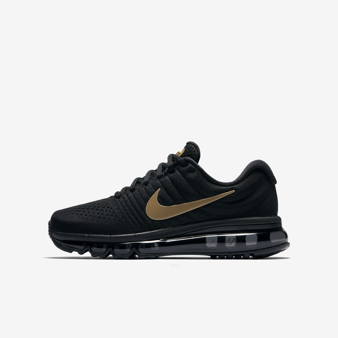 Nike Air Max 2018 Boys Running Shoes Black pM7115P