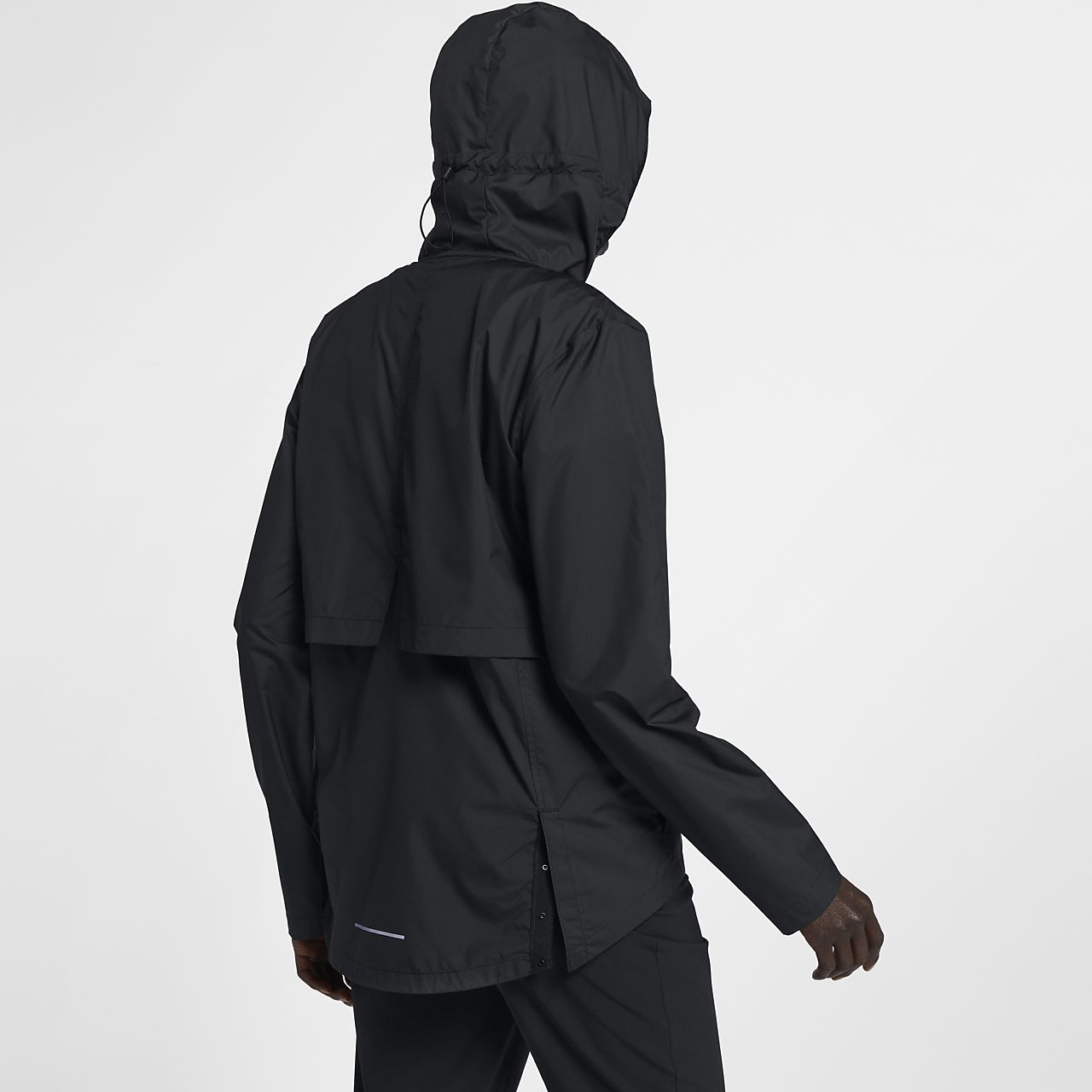 online store f260f 40bde ... Nike Essential Women s Packable Running Rain Jacket