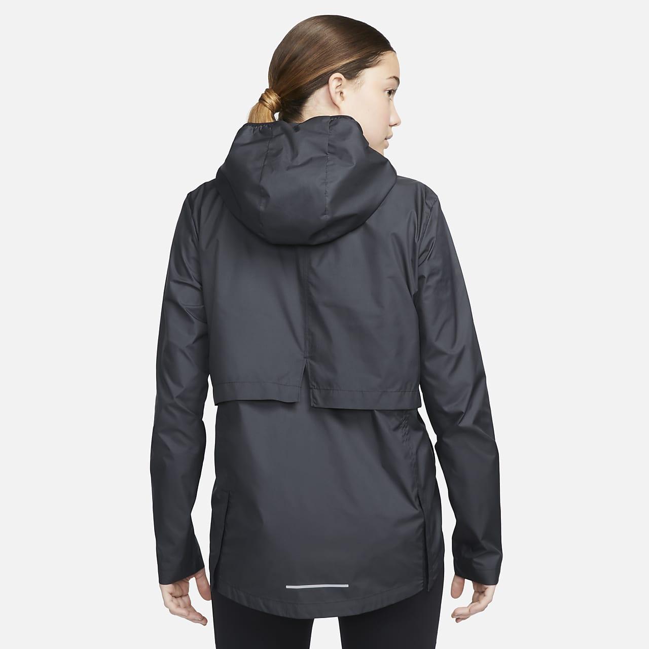 457ff8e40421 Nike Essential Women s Packable Running Rain Jacket . Nike.com