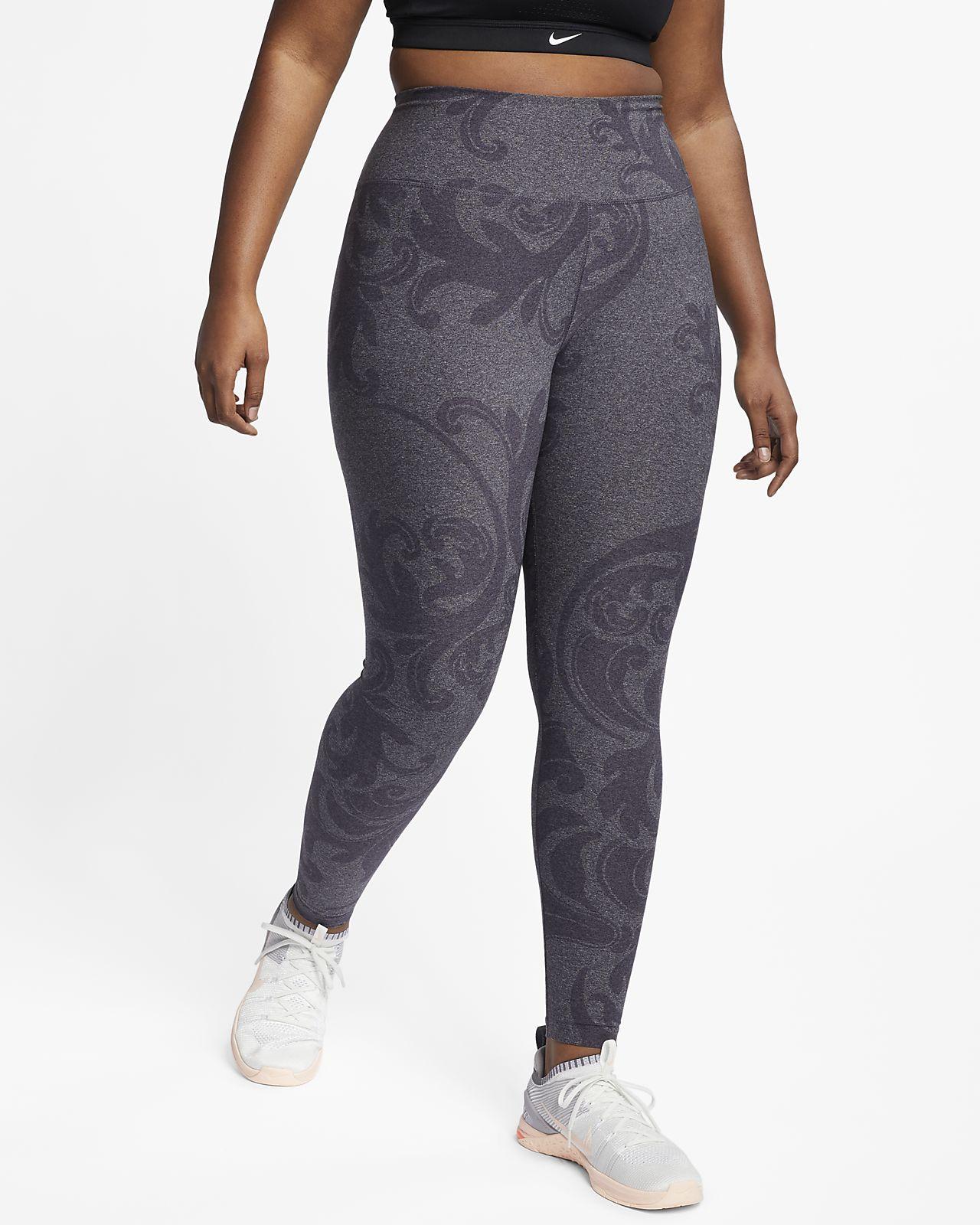 dac4c0a902d42 Nike Dri-FIT Power Studio Women's Printed Training Tights (Plus Size ...