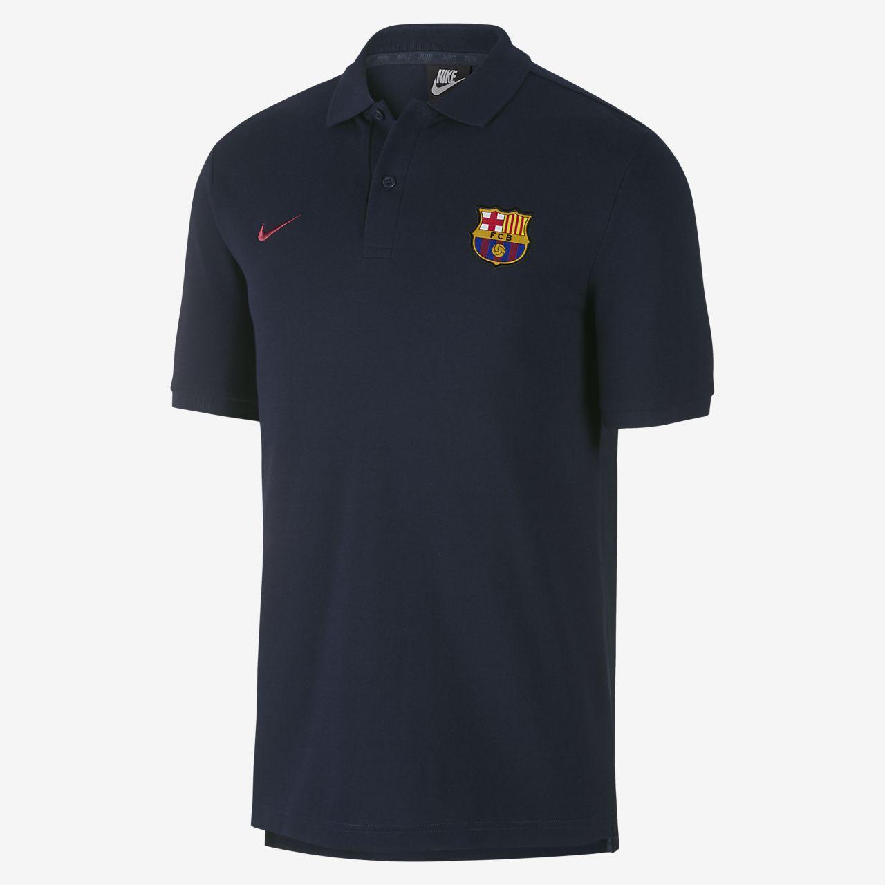 nike polo fc barcelona