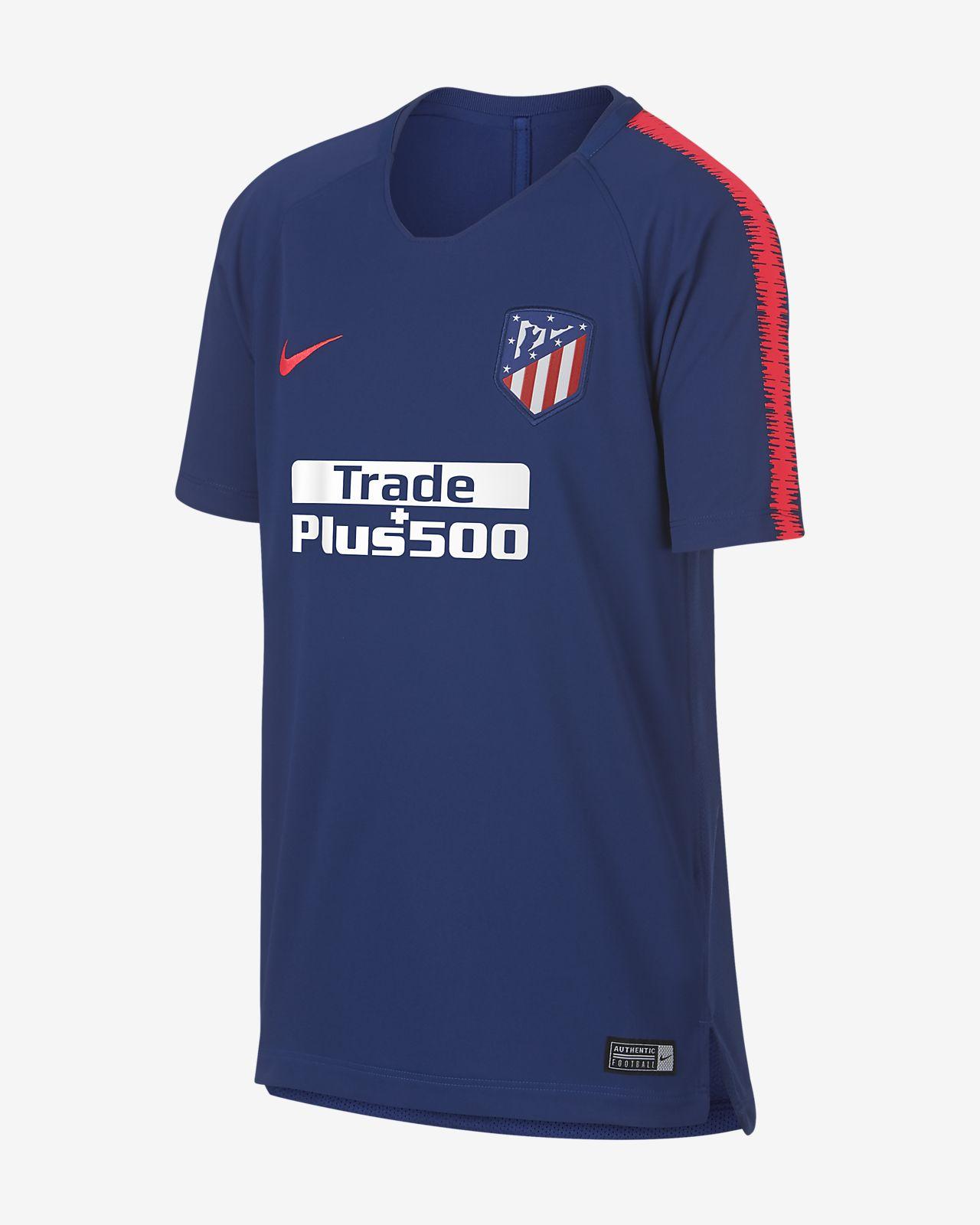 Atlético de Madrid Breathe Squad Samarreta de futbol - Nen/a