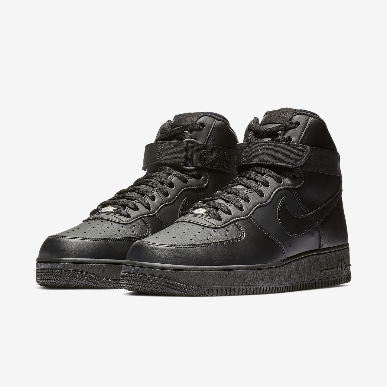 nike air force 1 high black