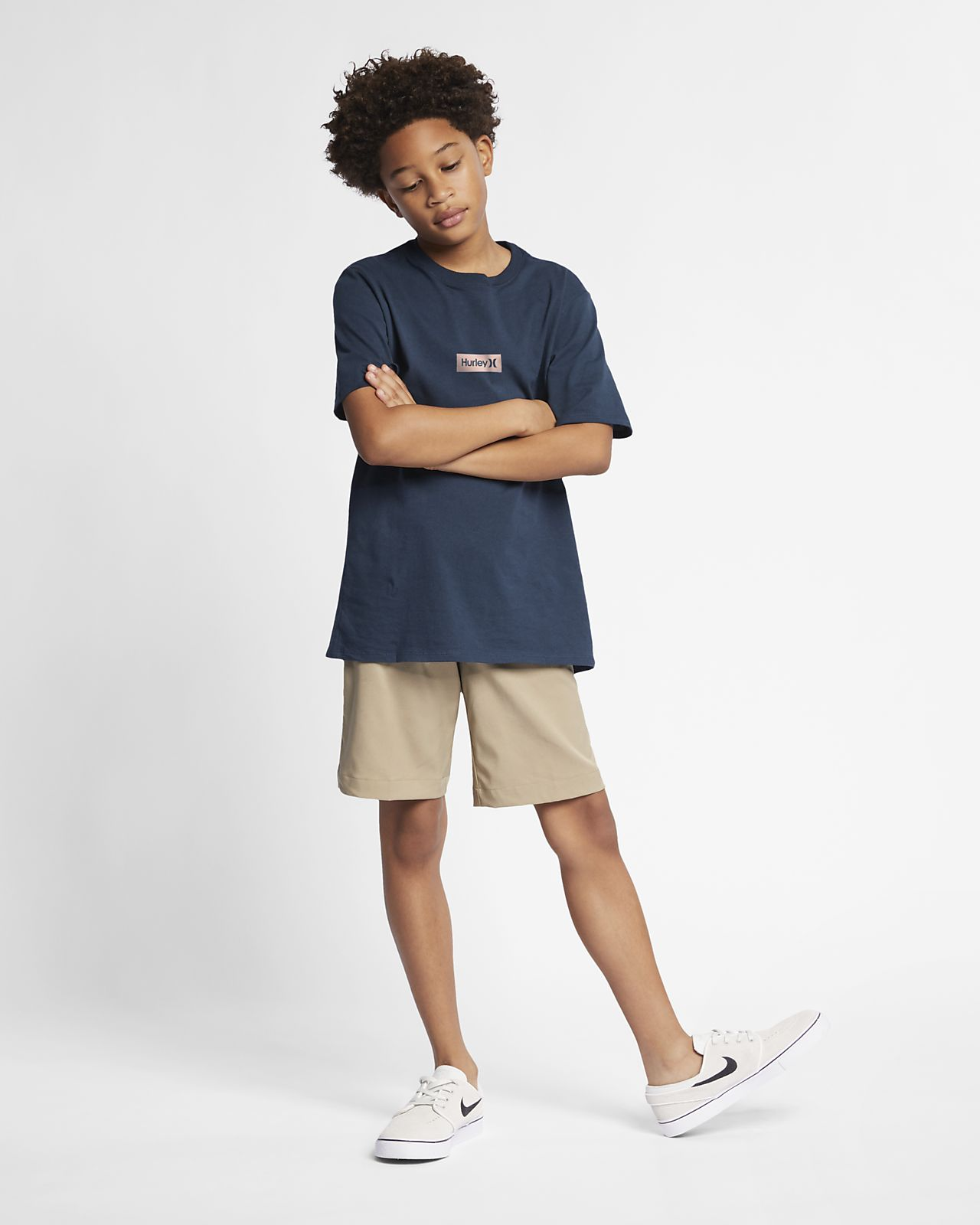 0d42011061c405 Hurley Premium One And Only Small Box Jungen-T-Shirt. Nike.com DE