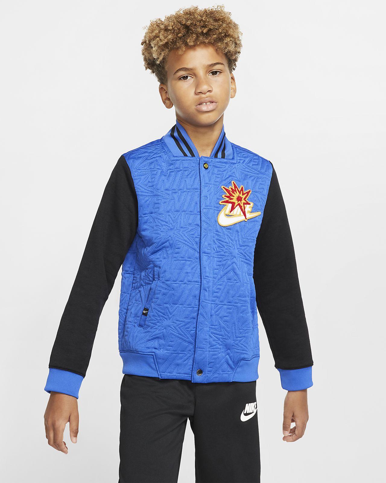 Nike Sportswear DNA Big Kids' (Boys') Bomber Jacket