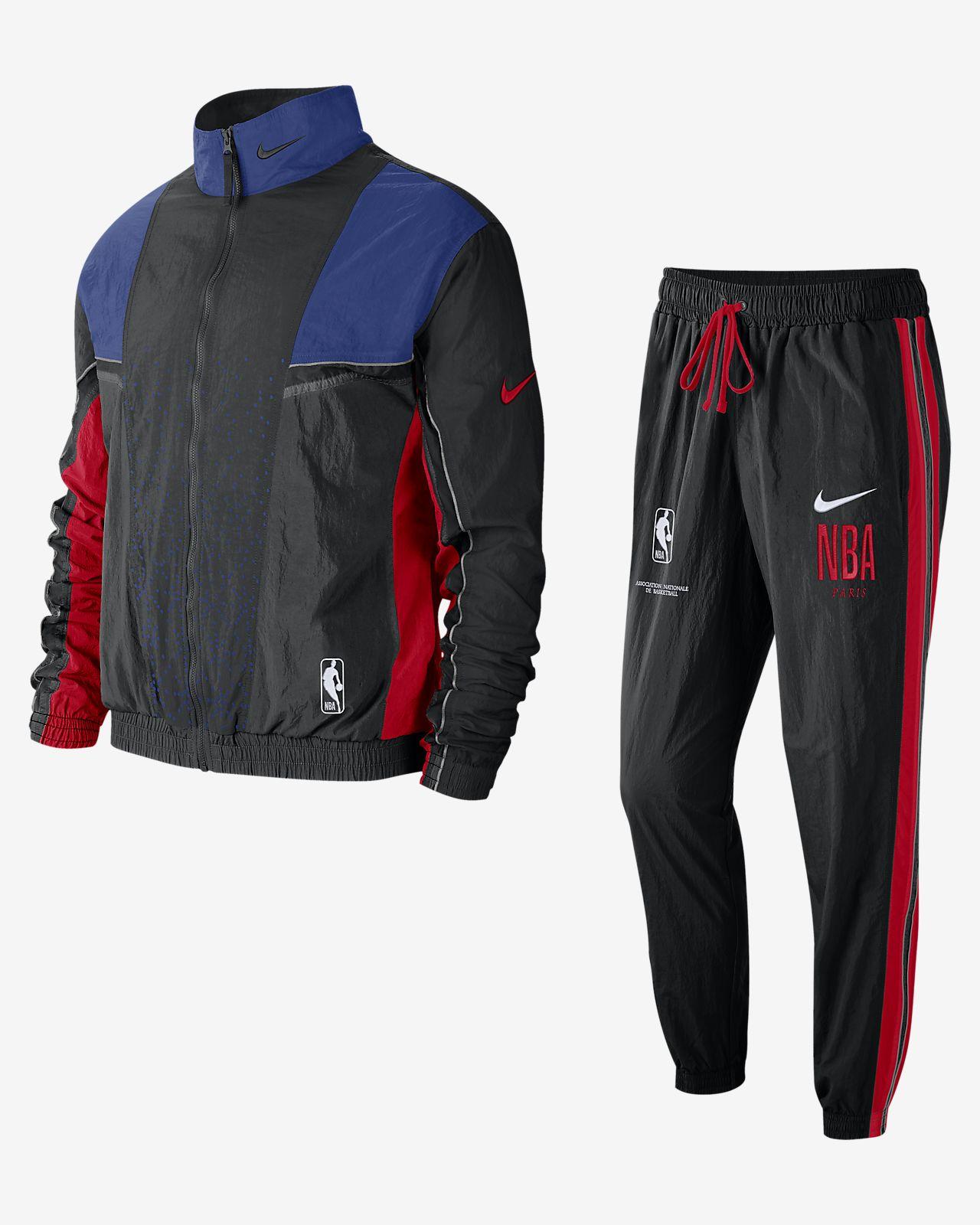 """Conjunto de entrenamiento de la NBA para hombre Nike Courtside """"Paris"""""""