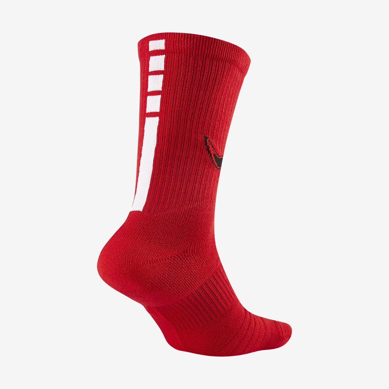 Chicago Bulls Nike Elite NBA Crew Socks
