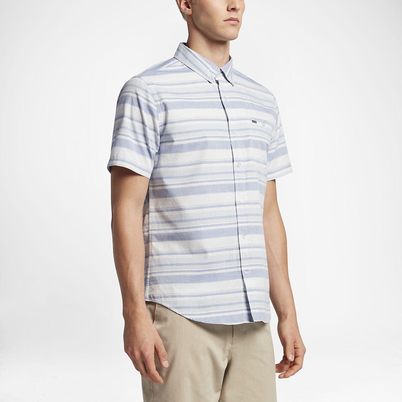 Hurley Froth Men's Short Sleeve Shirts Game Royal/Blue