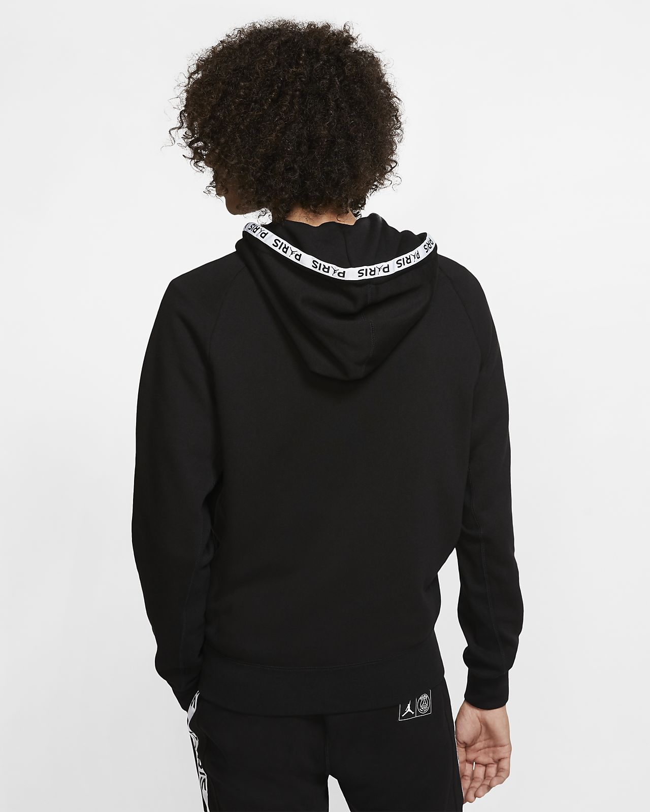 Paris Saint Germain Black Cat Full Zip Fleece Hoodie