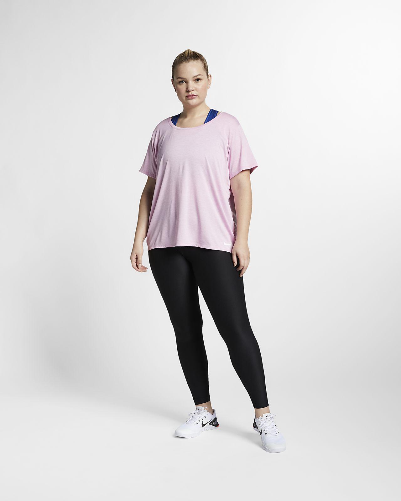 c3da84ab808 ... Nike Dri-FIT Legend Women s Short-Sleeve Training Top (Plus Size)