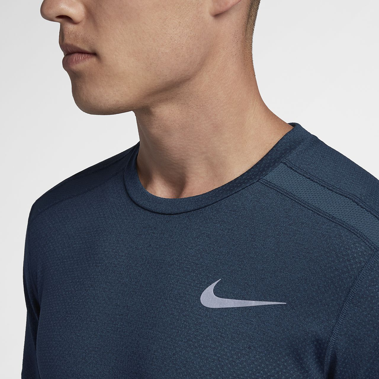 ... Nike Dri-FIT Miler Cool Men's Short-Sleeve Running Top