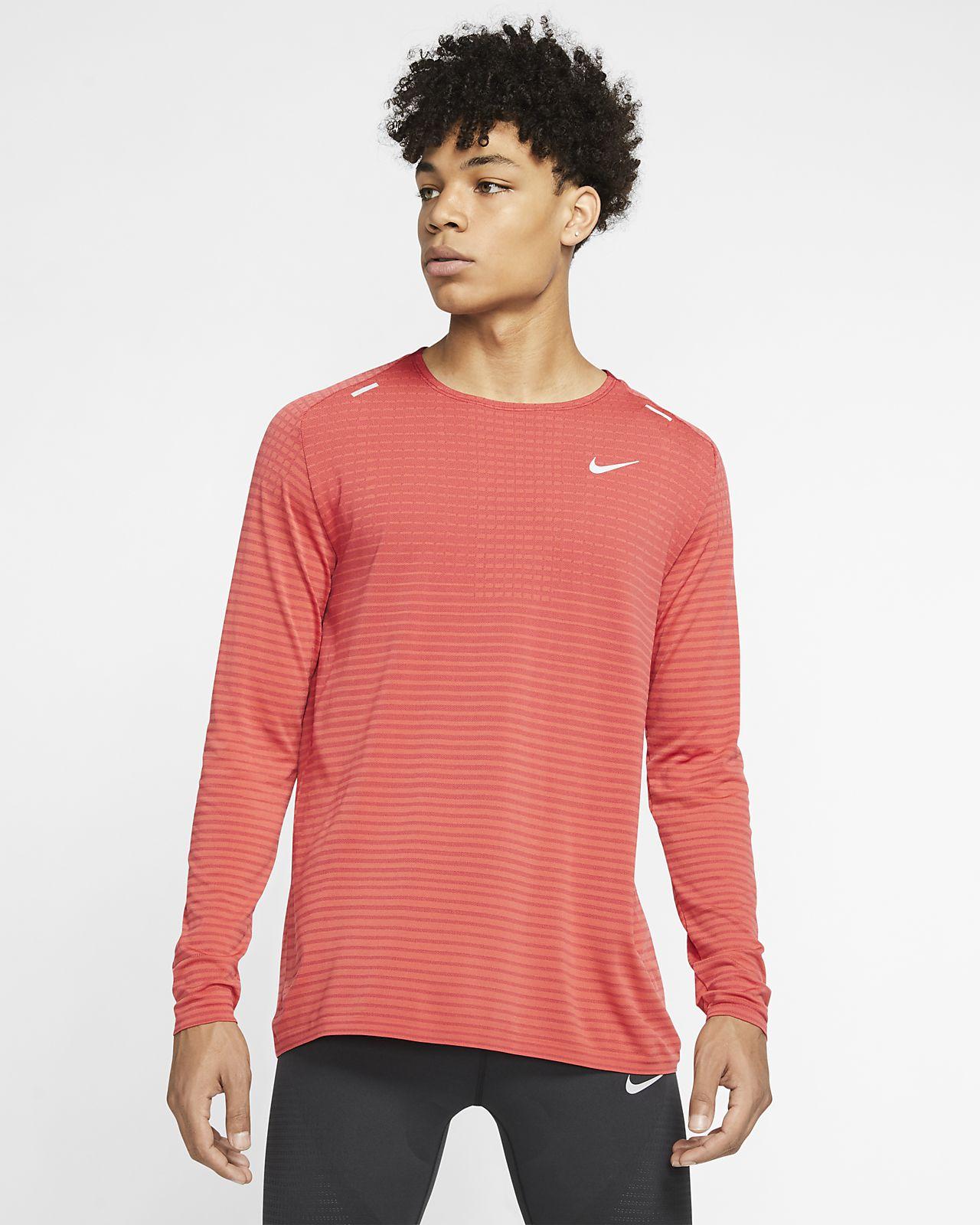 Nike TechKnit Ultra Men's Long-Sleeve Running Top