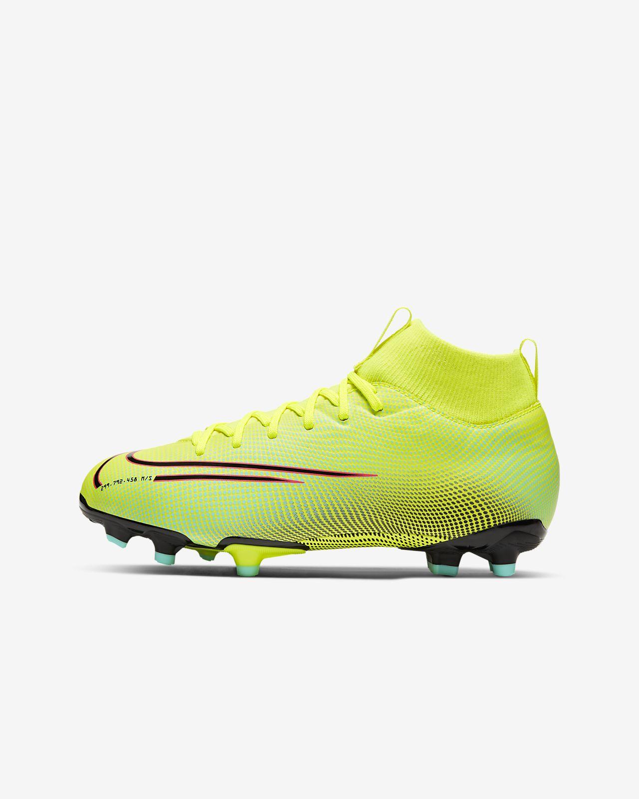 Fotbollssko för inomhusplanerfutsal Nike Jr. Mercurial Superfly 7 Academy IC för barn