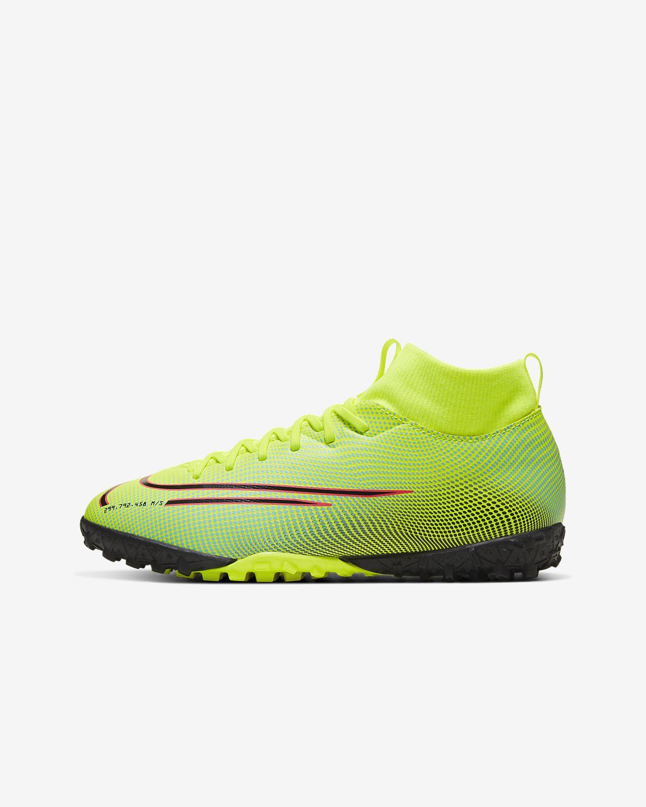 Nike Jr. Mercurial Superfly 7 Academy IC fodboldsko til børn (indendørs)
