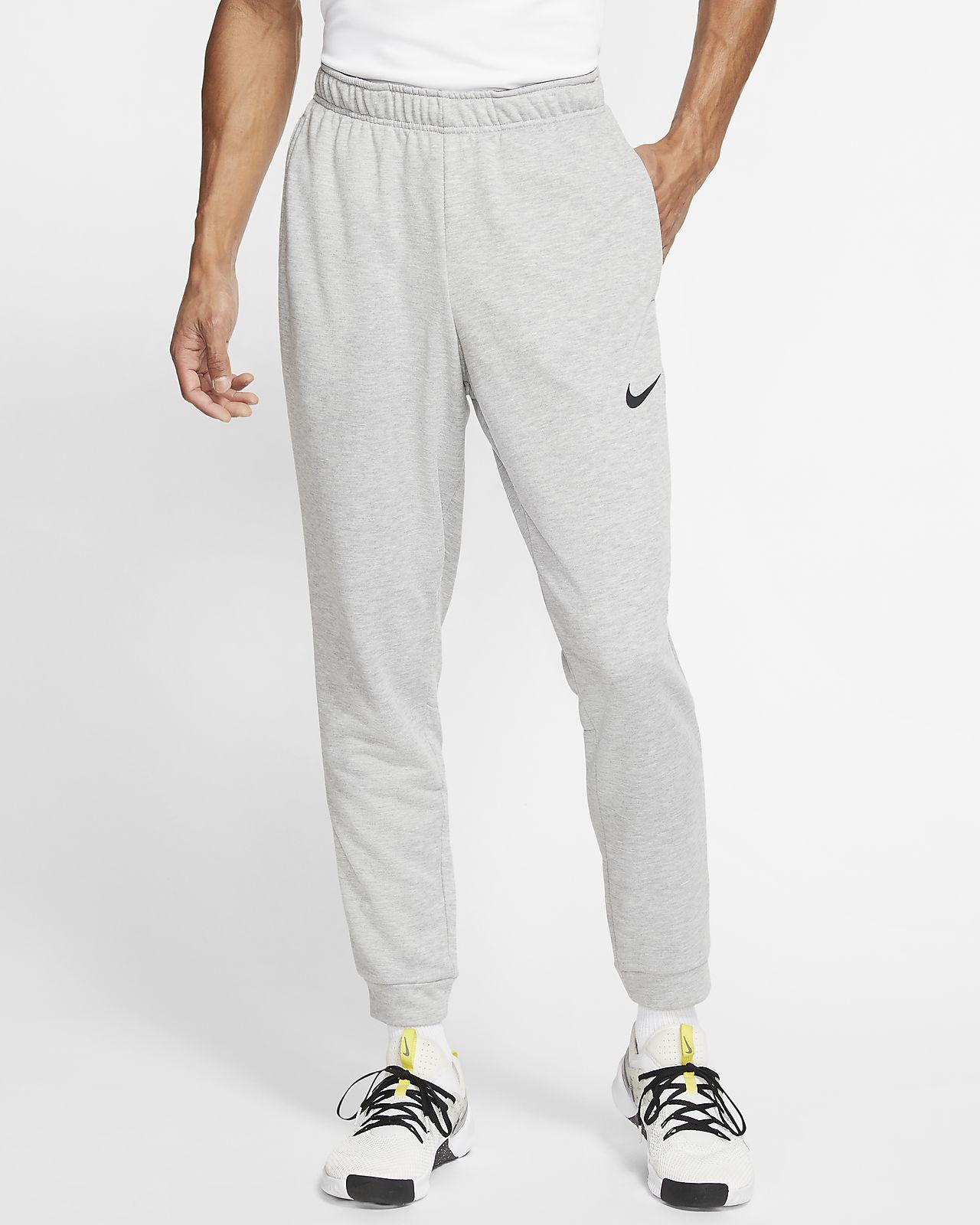 Calças de treino de lã cardada Nike Dri-FIT para homem