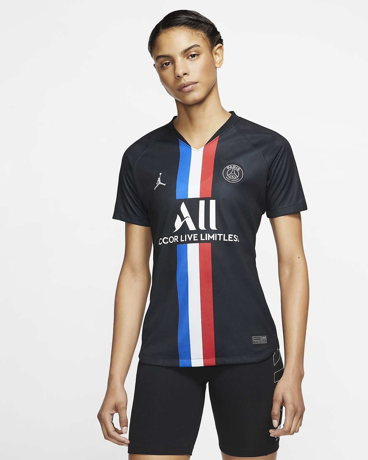Jordan x Paris Saint-Germain 2019/20 Stadium Fourth Women's Soccer Jersey