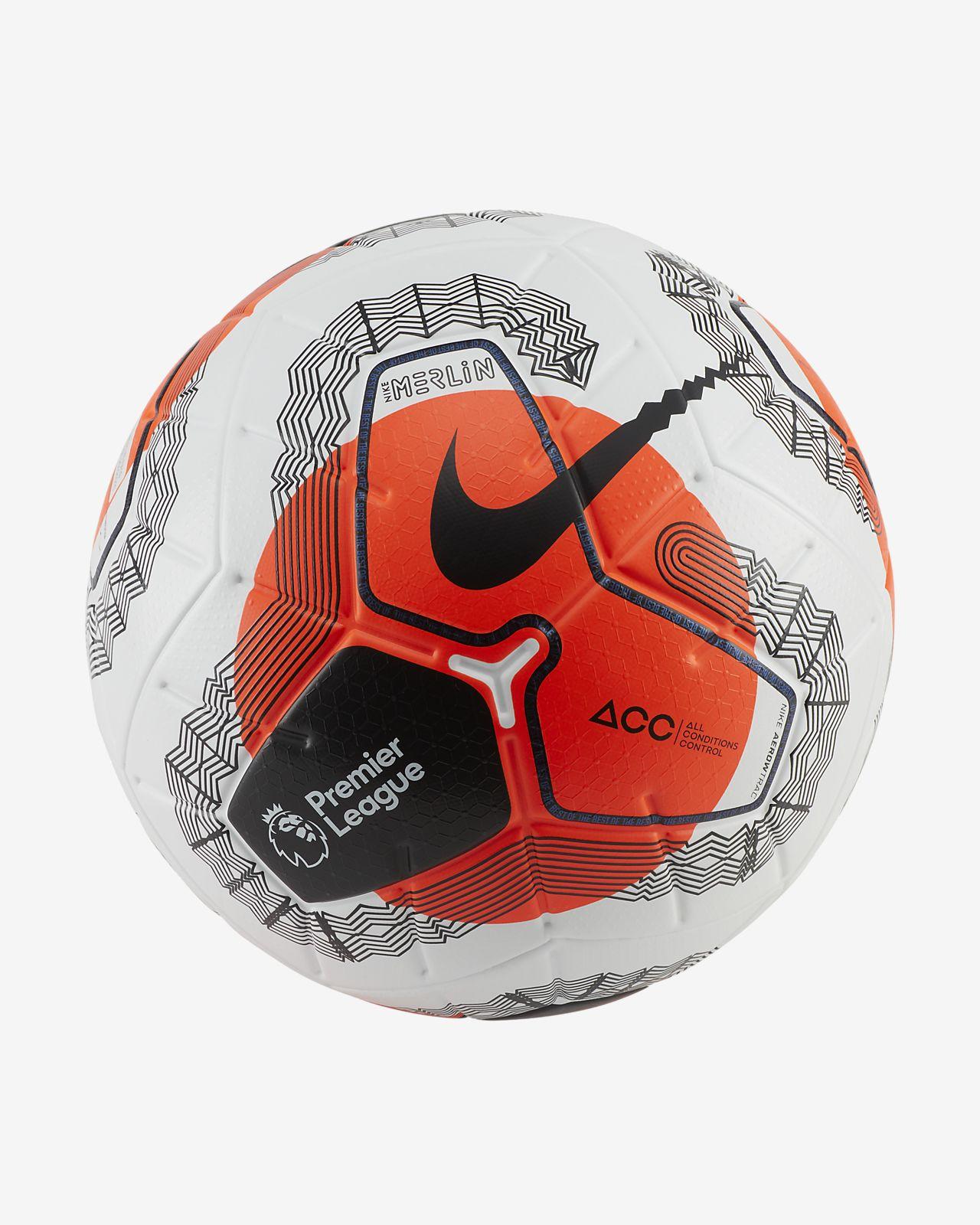 Premier League Tunnel Vision Merlin Soccer Ball. Nike.com