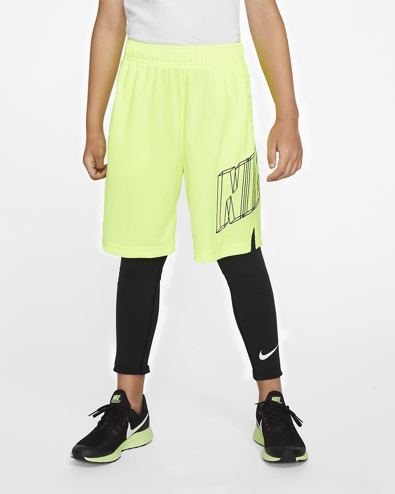 Legginsy treningowe dla dużych dzieci (chłopców) Nike Pro