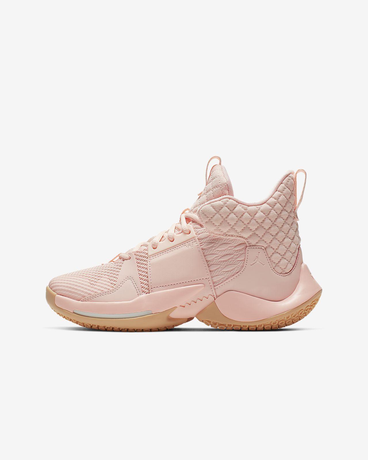 """Jordan """"Why Not?"""" Basketbalová bota Zer0.2 pro větší děti"""