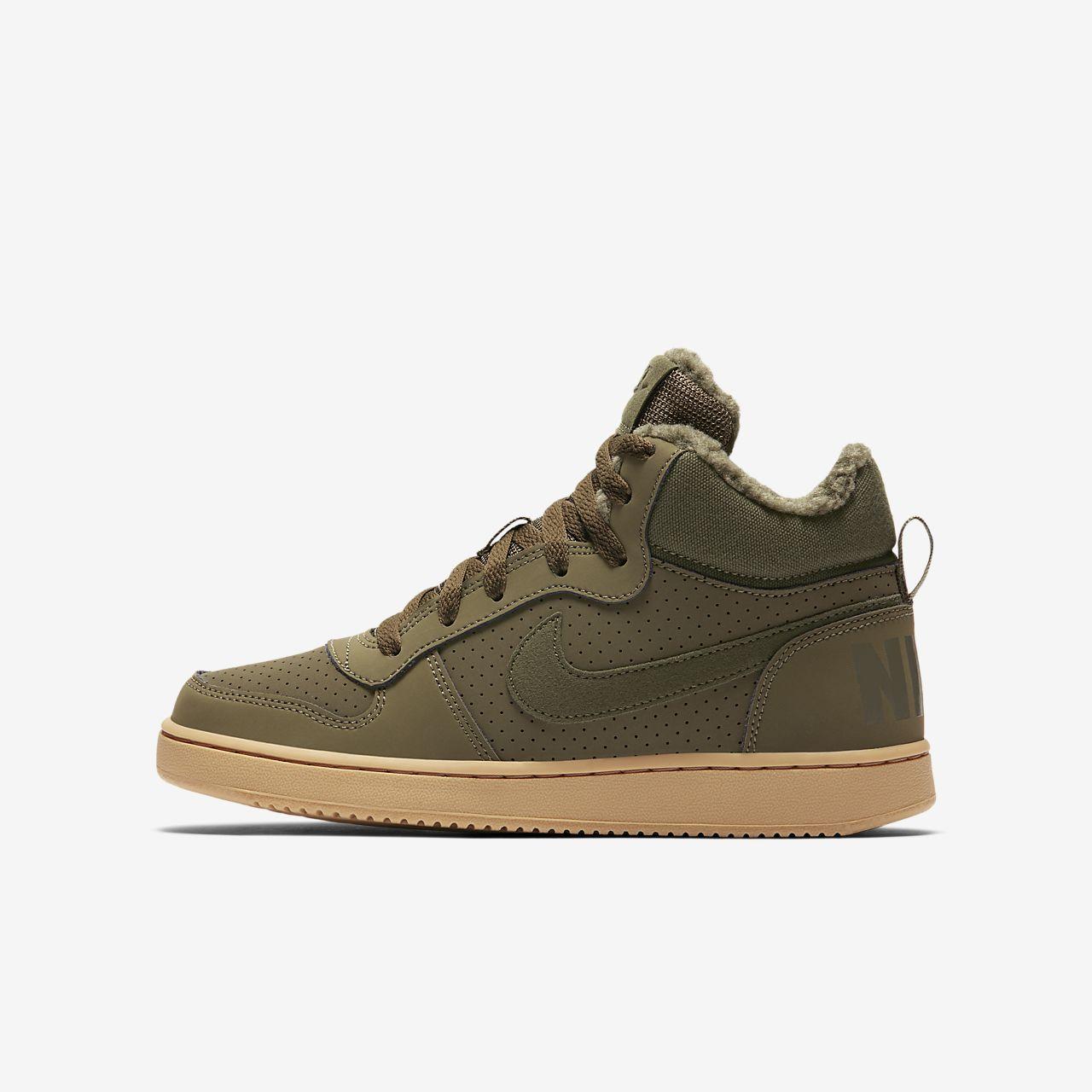 sports shoes e8f86 604ad Older Kids  Shoe. NikeCourt Borough Mid Winter