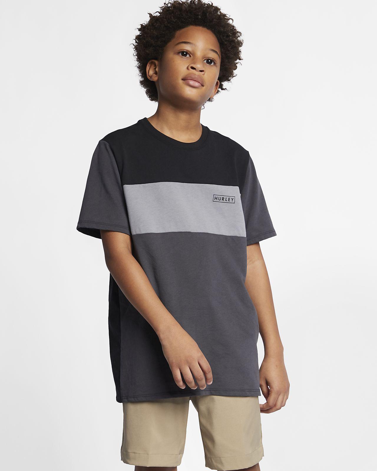 Αγορίστικη μπλούζα Hurley Dri-FIT Blocked