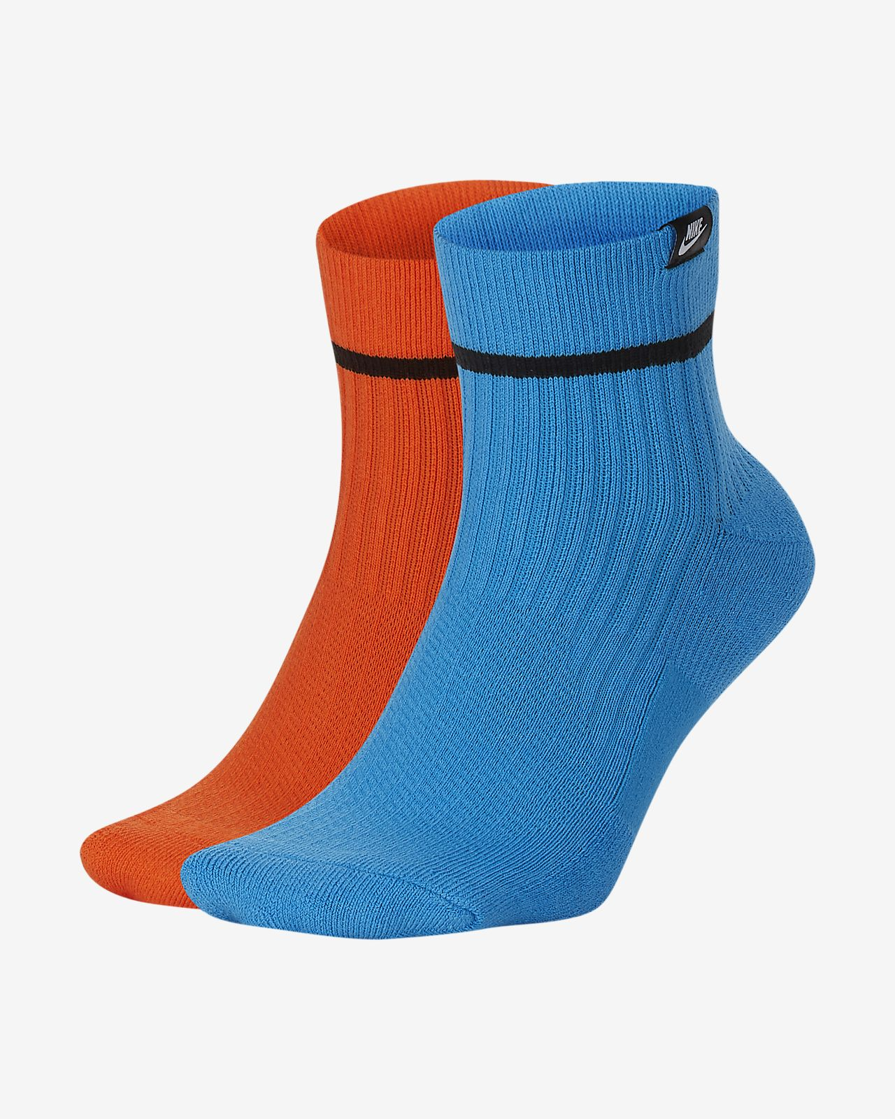 Nike SNEAKR Sox-ankelstrømper (2 par)