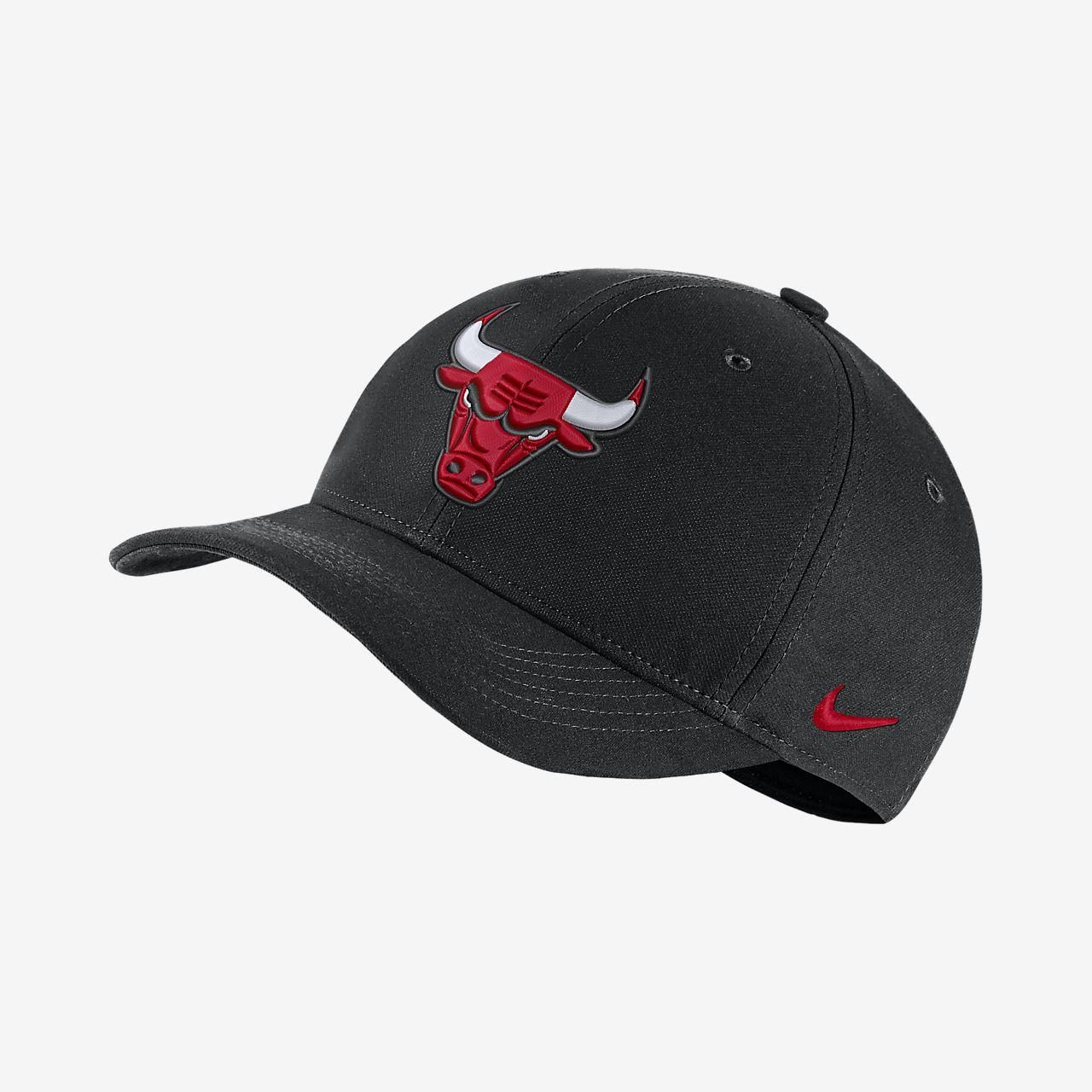 Бейсболка НБА Chicago Bulls City Edition Nike AeroBill Classic99
