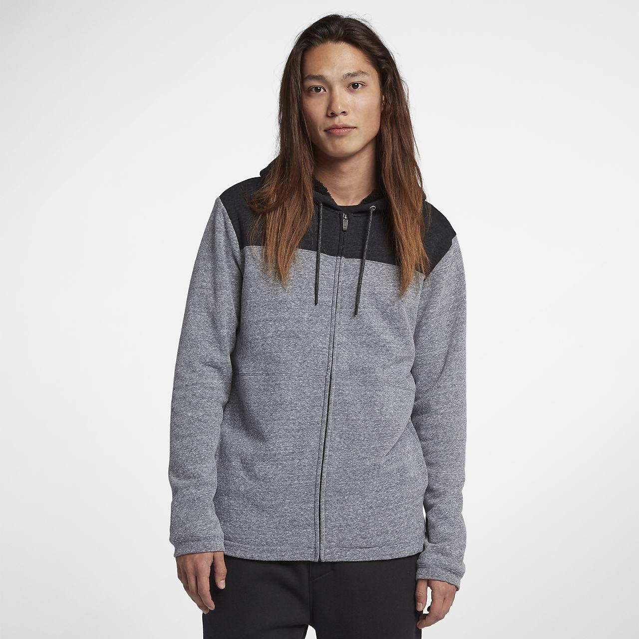 Nike Womens Hoodie - Nike Hurley One And Only Fleece Full-Zip Q73n3121