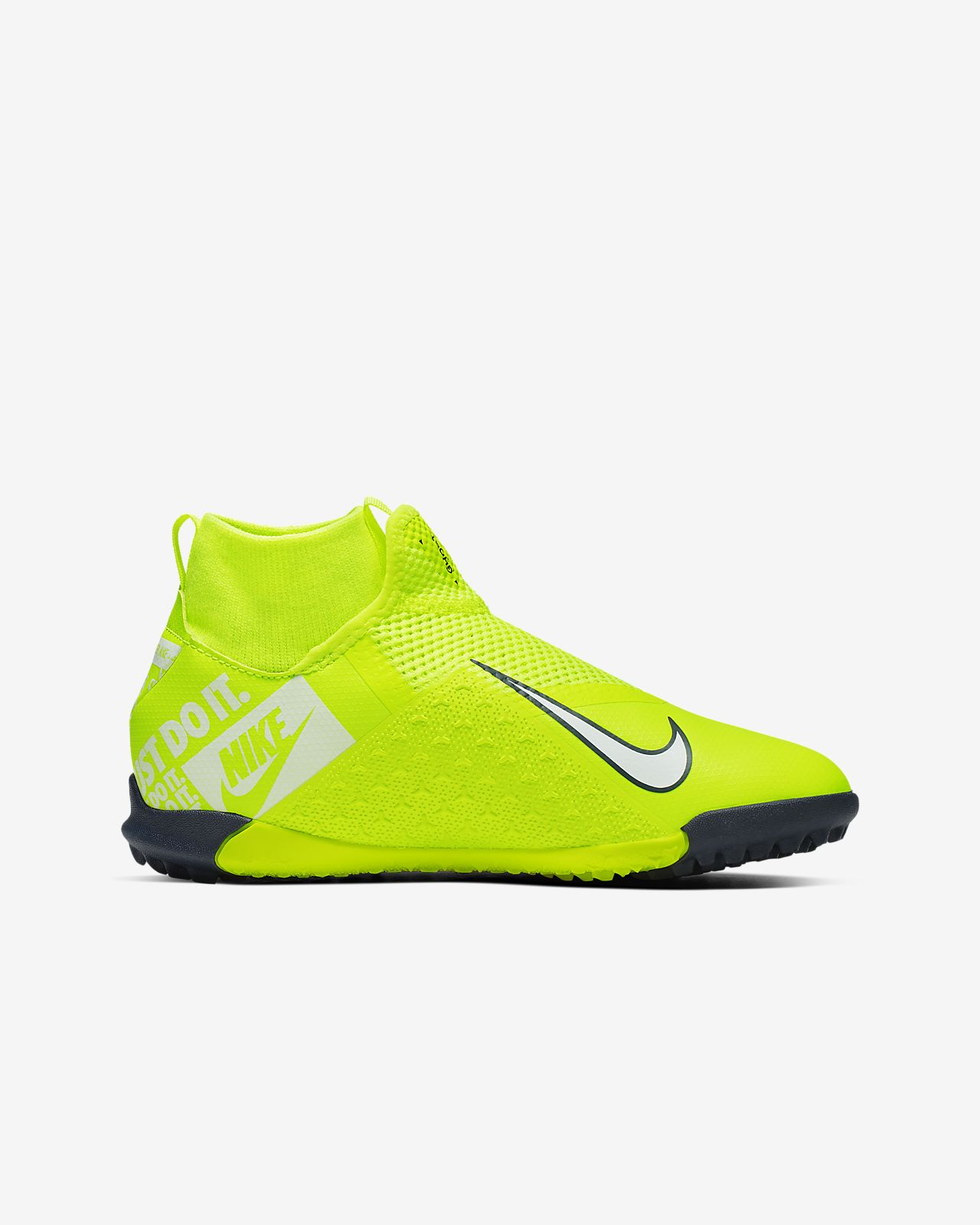 Nike Phantom Vision Academy Dynamic Fit IC Soccer Shoes Men volt white volt