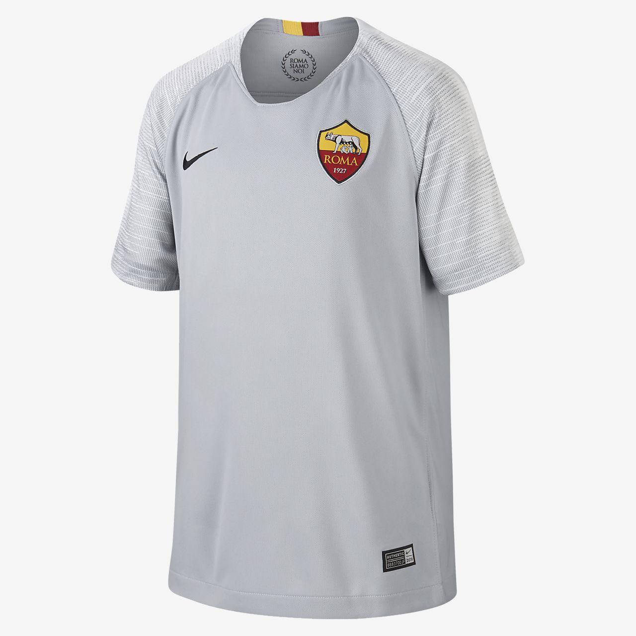 Футбольное джерси для школьников 2018/19 A.S. Roma Stadium Away