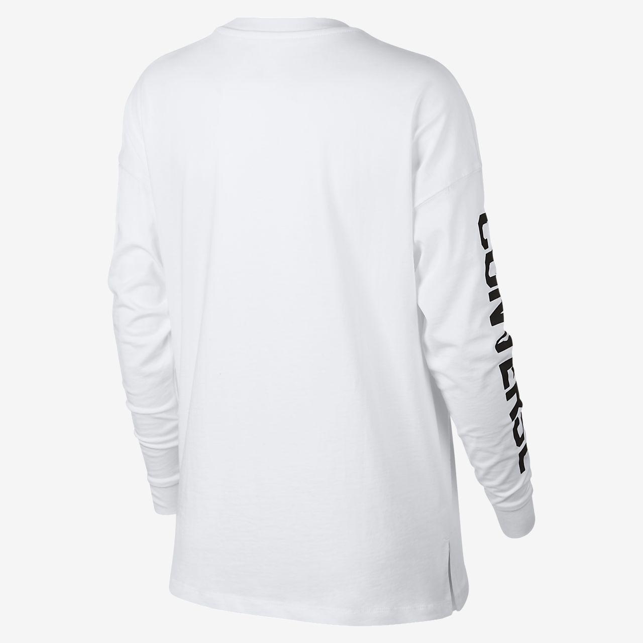 Converse Street Sport Women's Long Sleeve T-Shirt. Nike.com