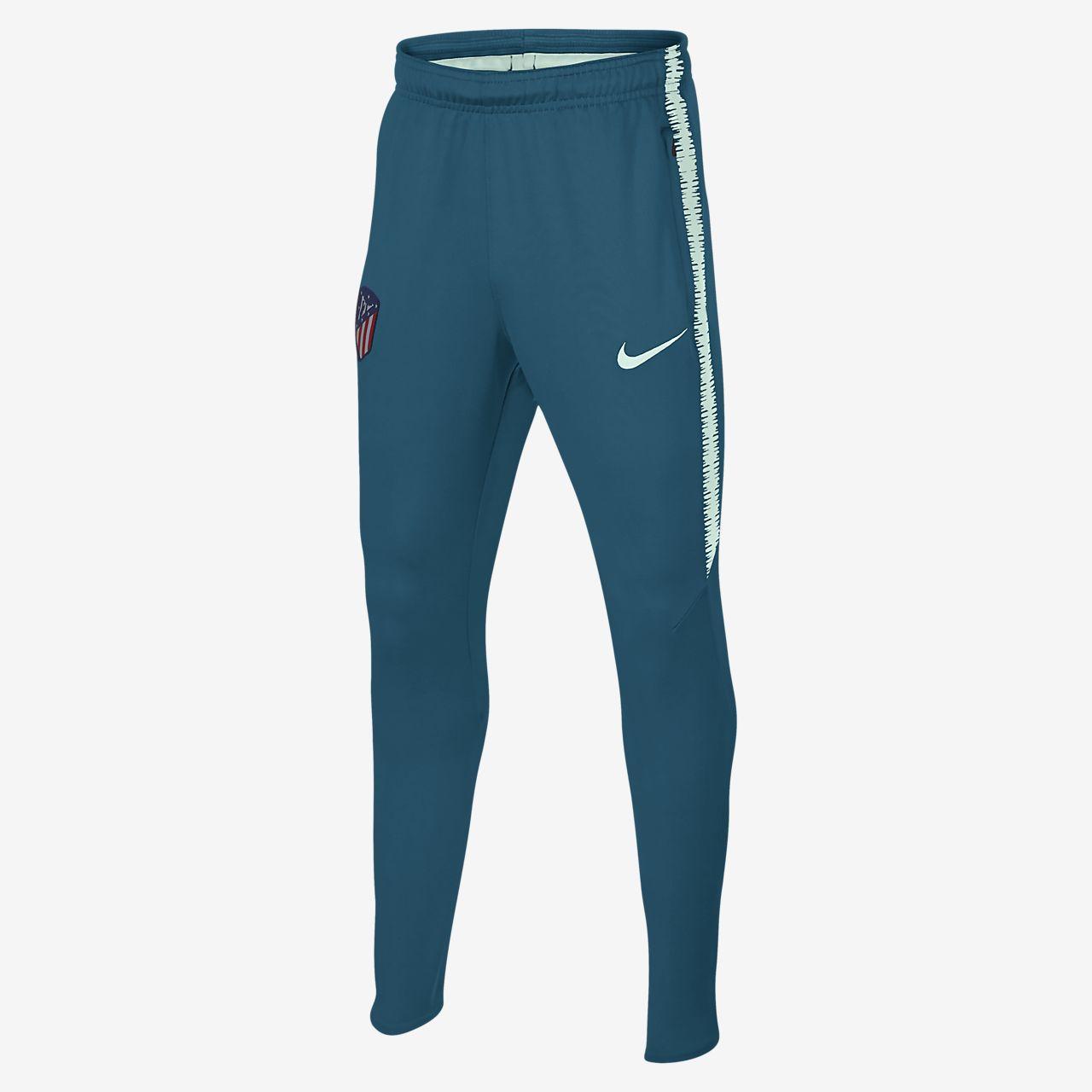 Atlético de Madrid Dri-FIT Squad Pantalón de fútbol - Niño a. Nike ... 40ac463a3ec84