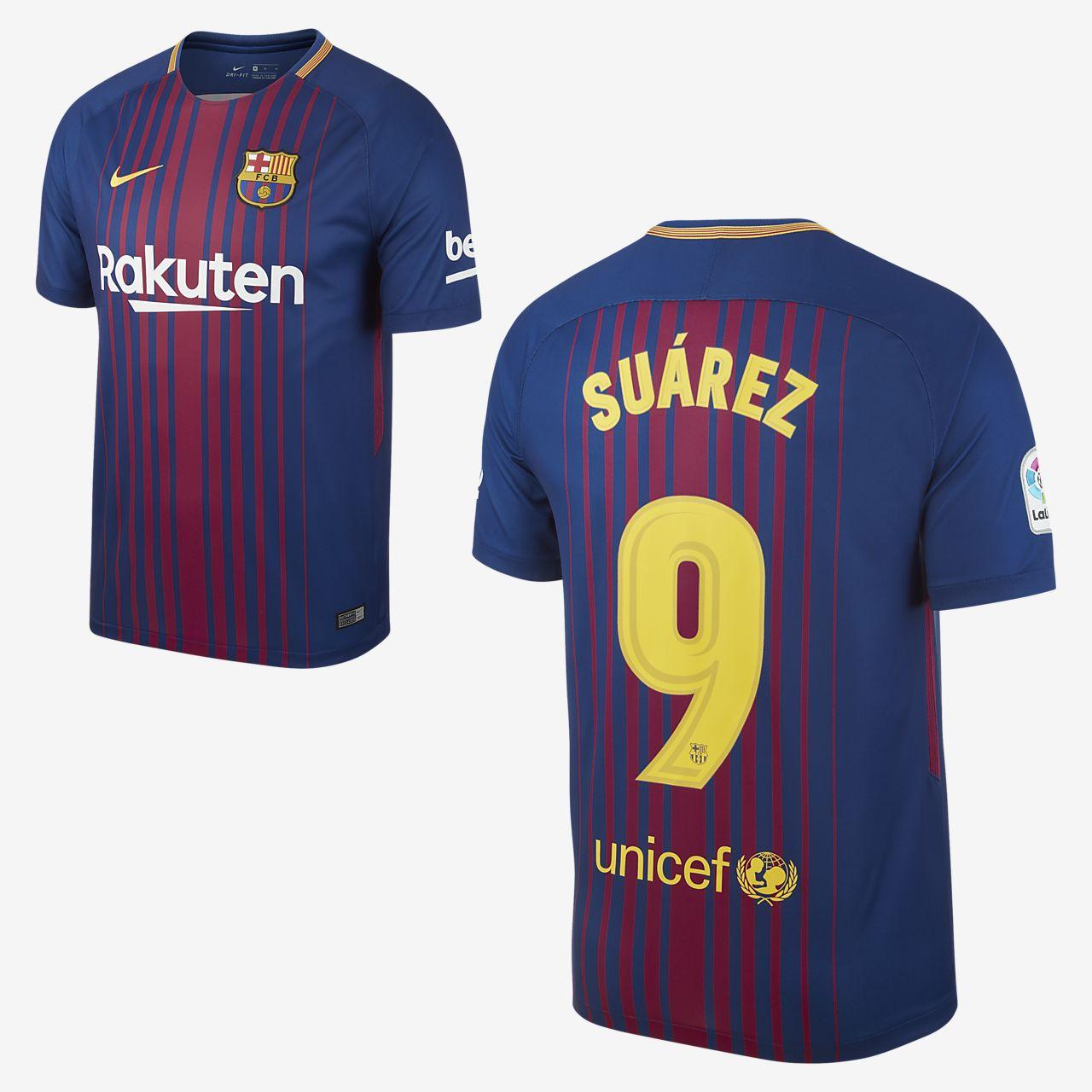 Maillot Extérieur FC Barcelona Suárez