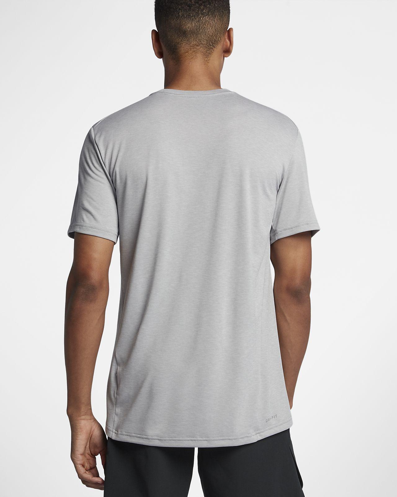 huge discount 6f8e6 7ce6c ... Nike Breathe Men s Short Sleeve Training Top