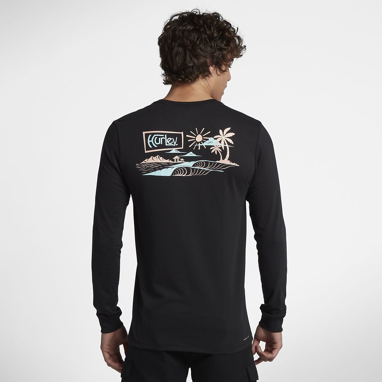 Hurley Dri-FIT Island Style Men's Long Sleeve T-Shirt