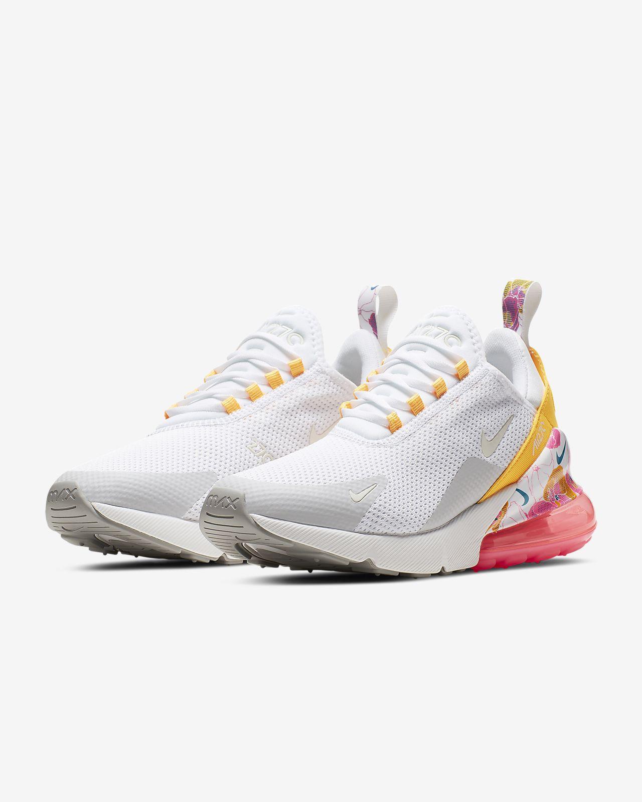 6f11388f9d03 Nike Air Max 270 SE Floral-sko til kvinder. Nike.com DK