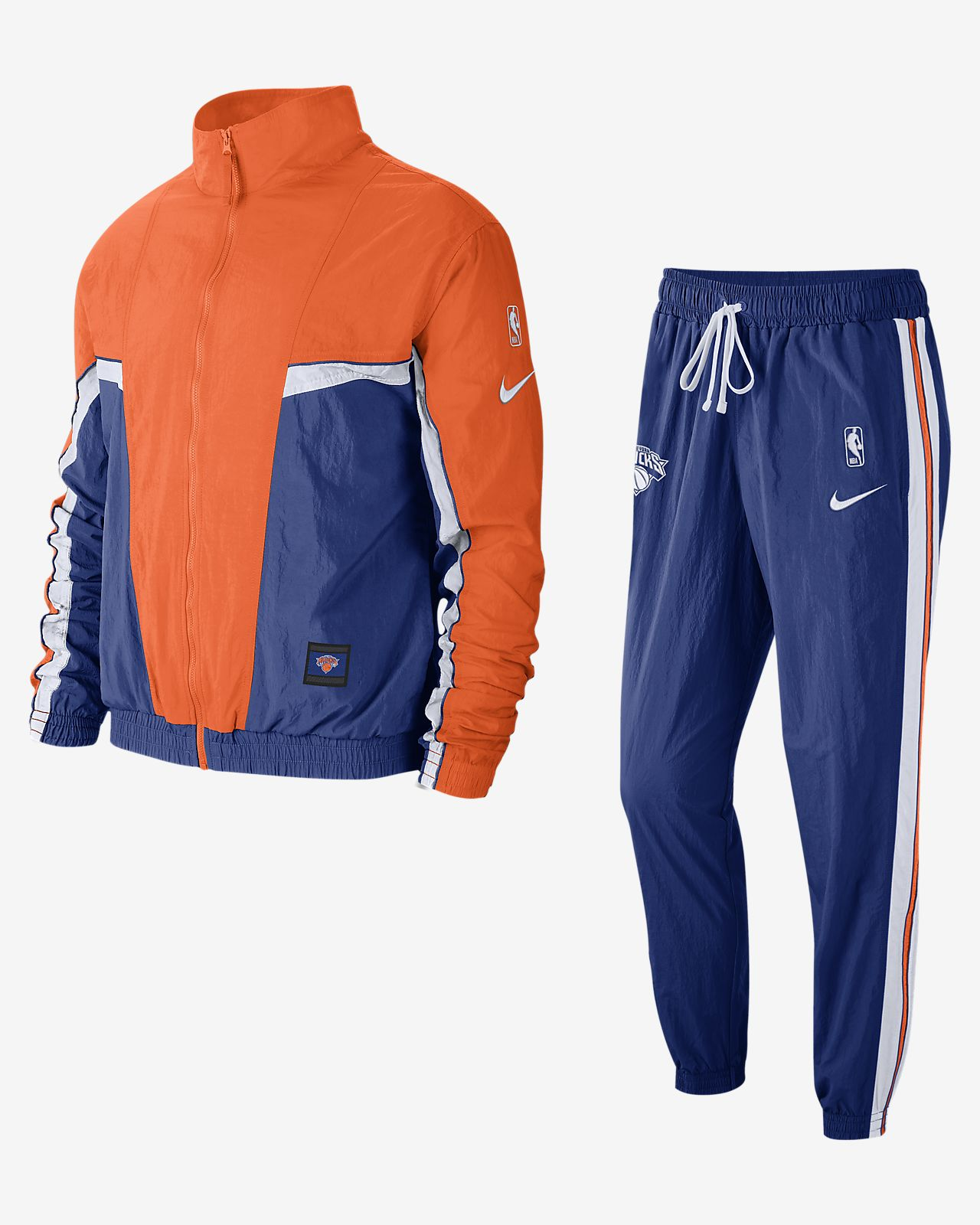 huge discount 3fb3d 1c91b New York Knicks Nike Men's NBA Tracksuit