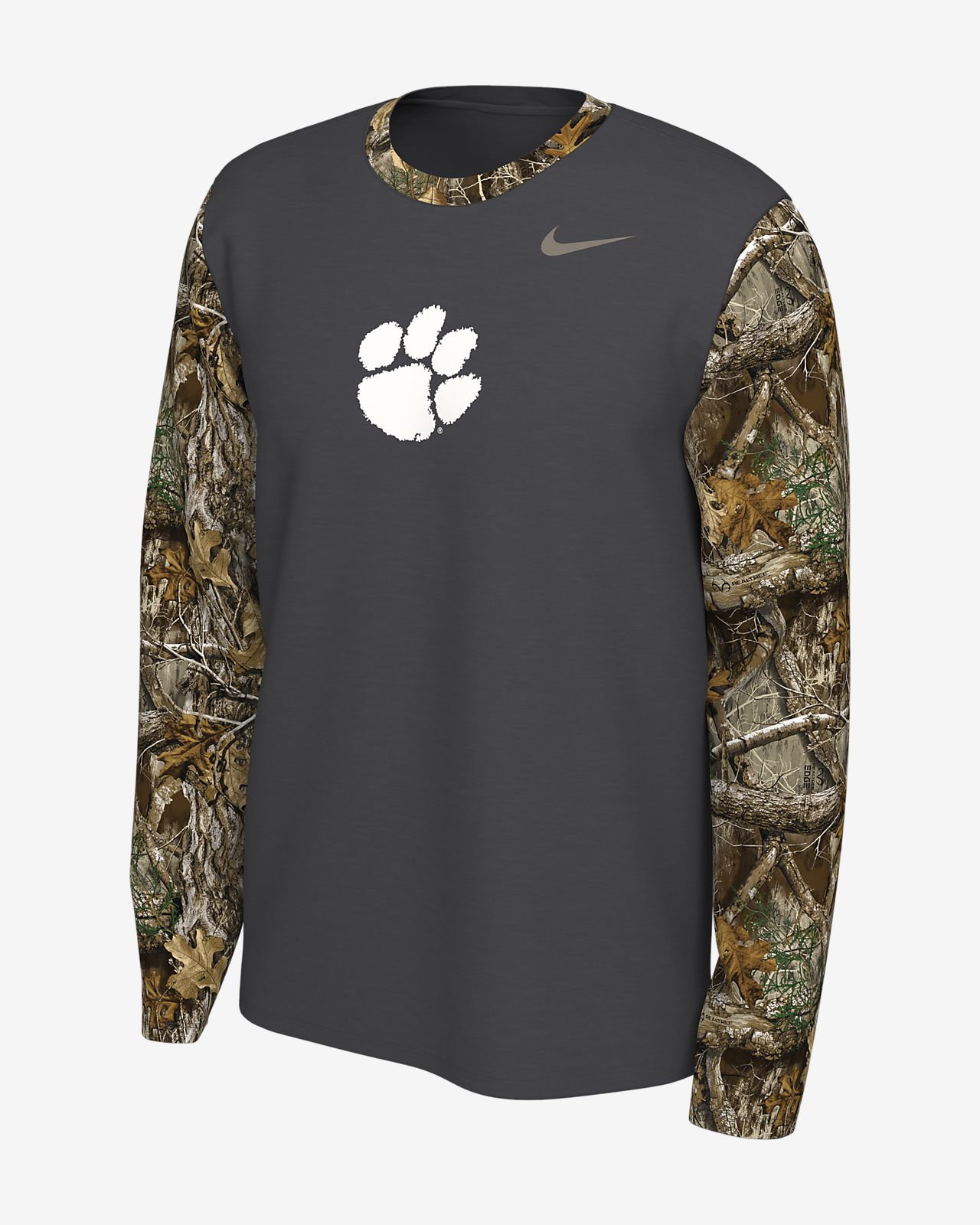 Nike College (Clemson) Realtree® Men's Long-Sleeve T-Shirt