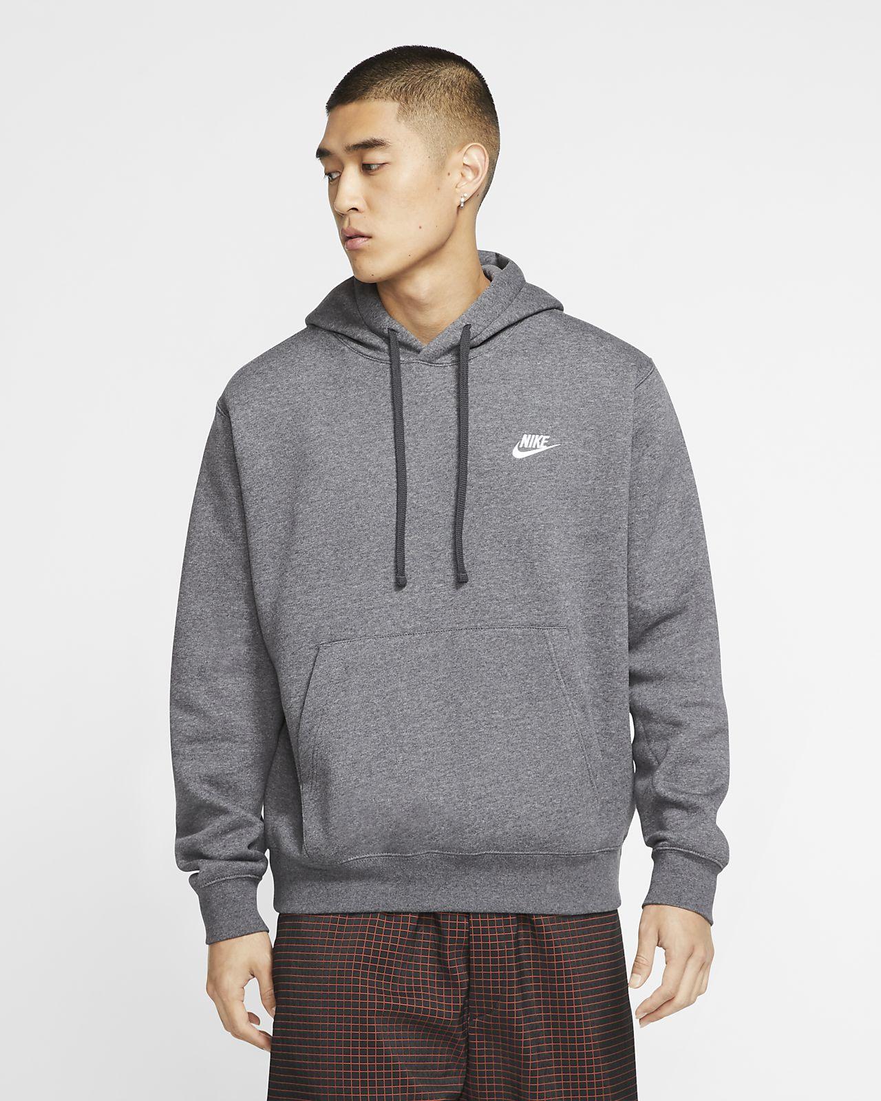 Nike Club Sweat Pants Charcoal HeatherAnthraciteWhite