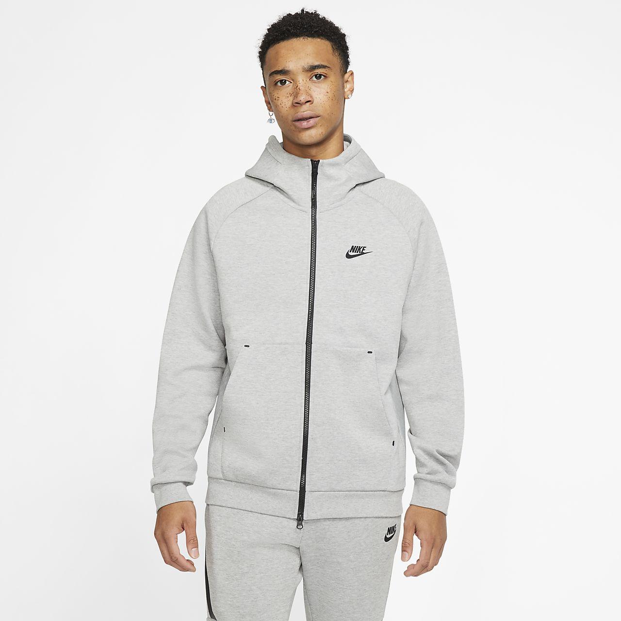 Nike Sportswear HOODIE Felpa con cappuccio white Uomo